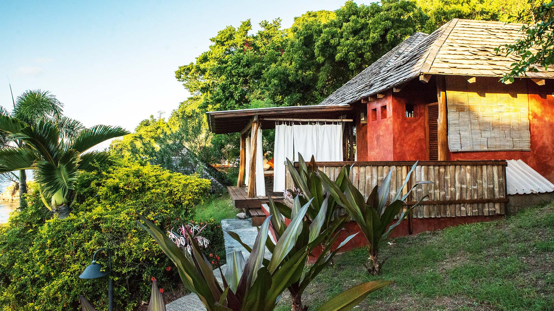A guesthouse nestled in a forest in Grenada