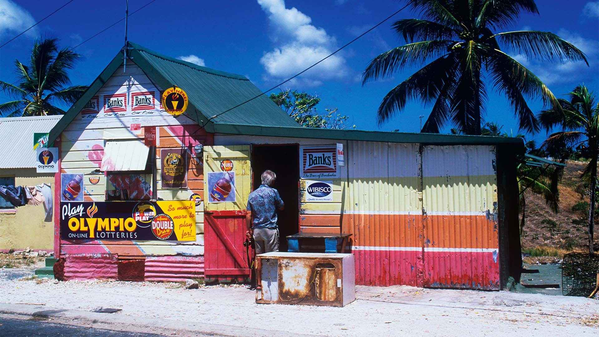 A rum in Barbados (st lucy)