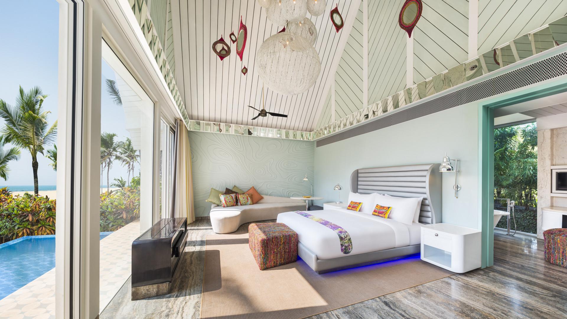 W hotel Goa room interior