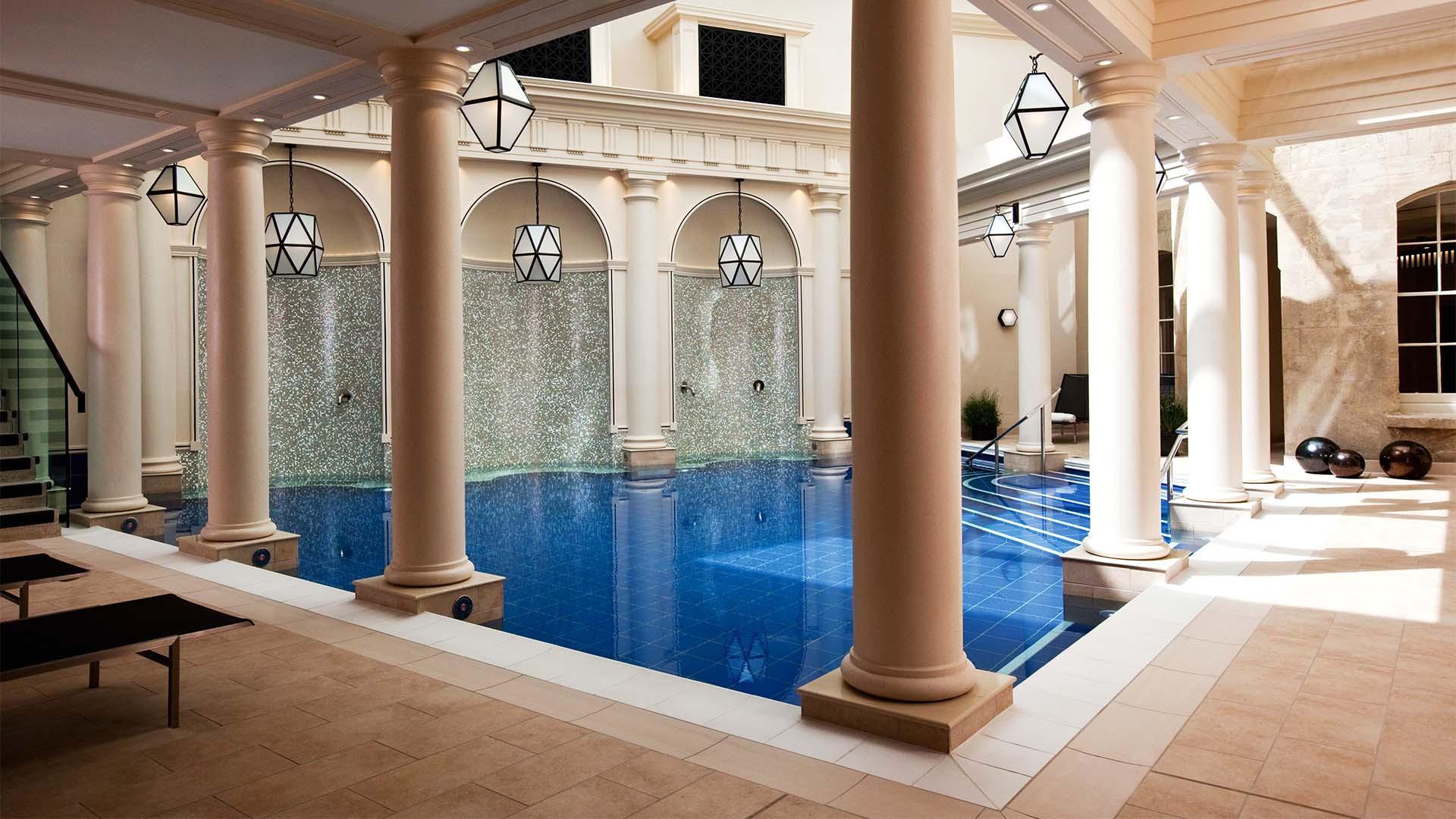 Interior of Gainsborough spa