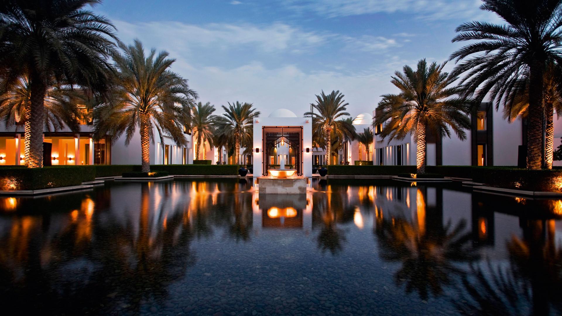 Al Bustan hotel swimming pool, Oman