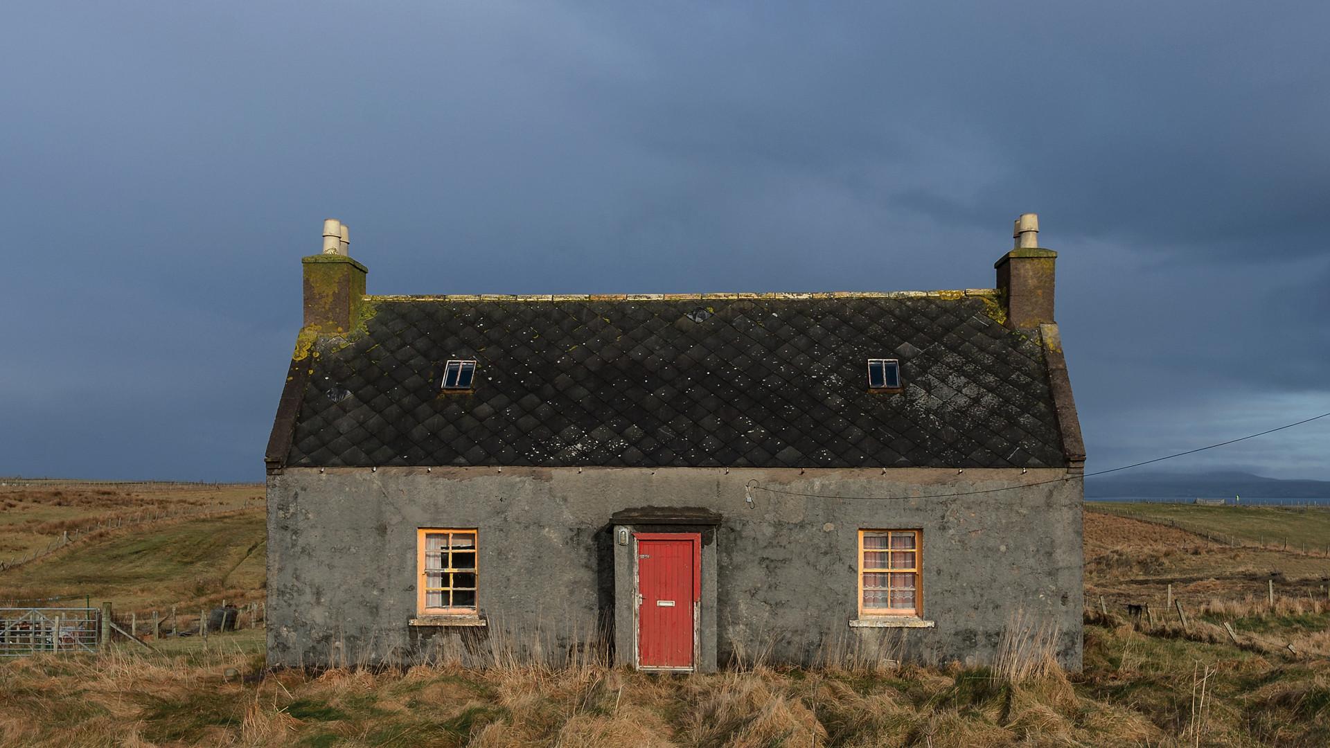 Abandoned house on the Isle of Lewis