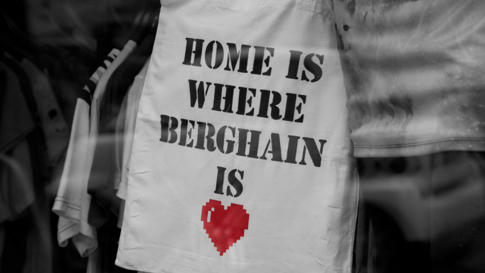 Tote bag for Berghain, Germany