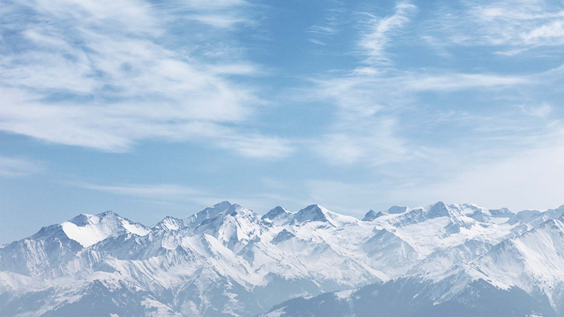 Hohe Tauern mountains in the east Austrian alps
