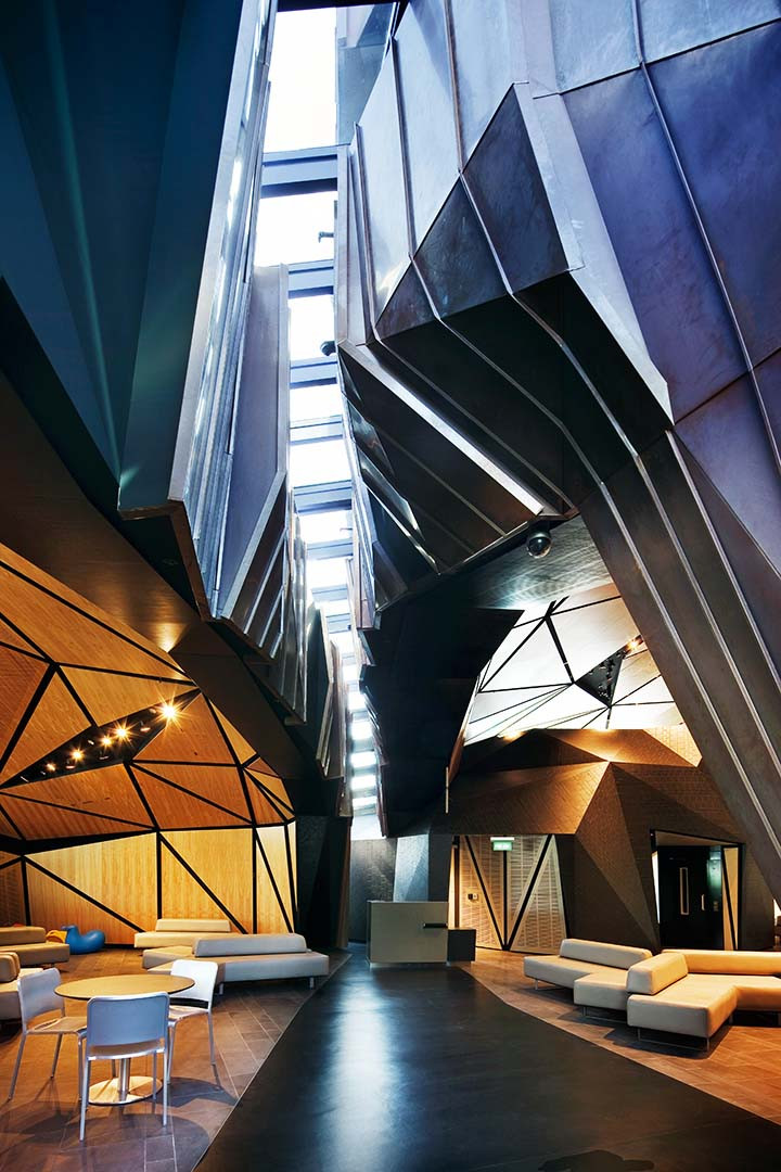 Interior of Wellington International Airport