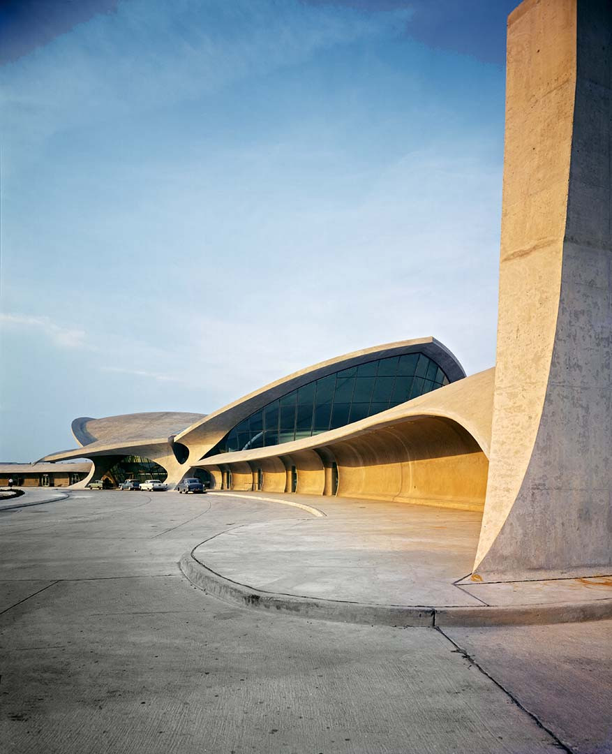 TWA Flight Center exterior, JFK Airport, NY