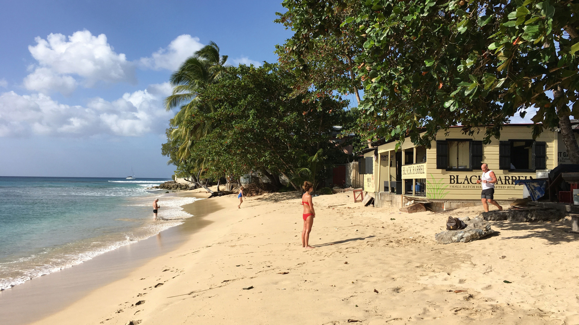 Bajan beach