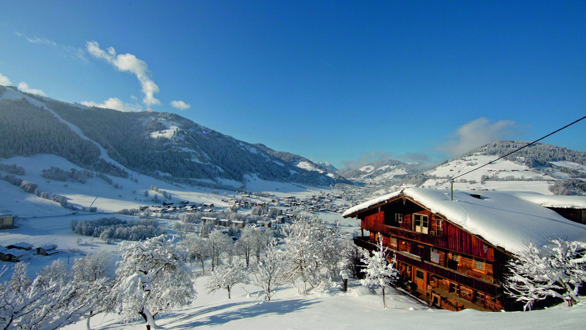 A ski chalet in Ski Juwel