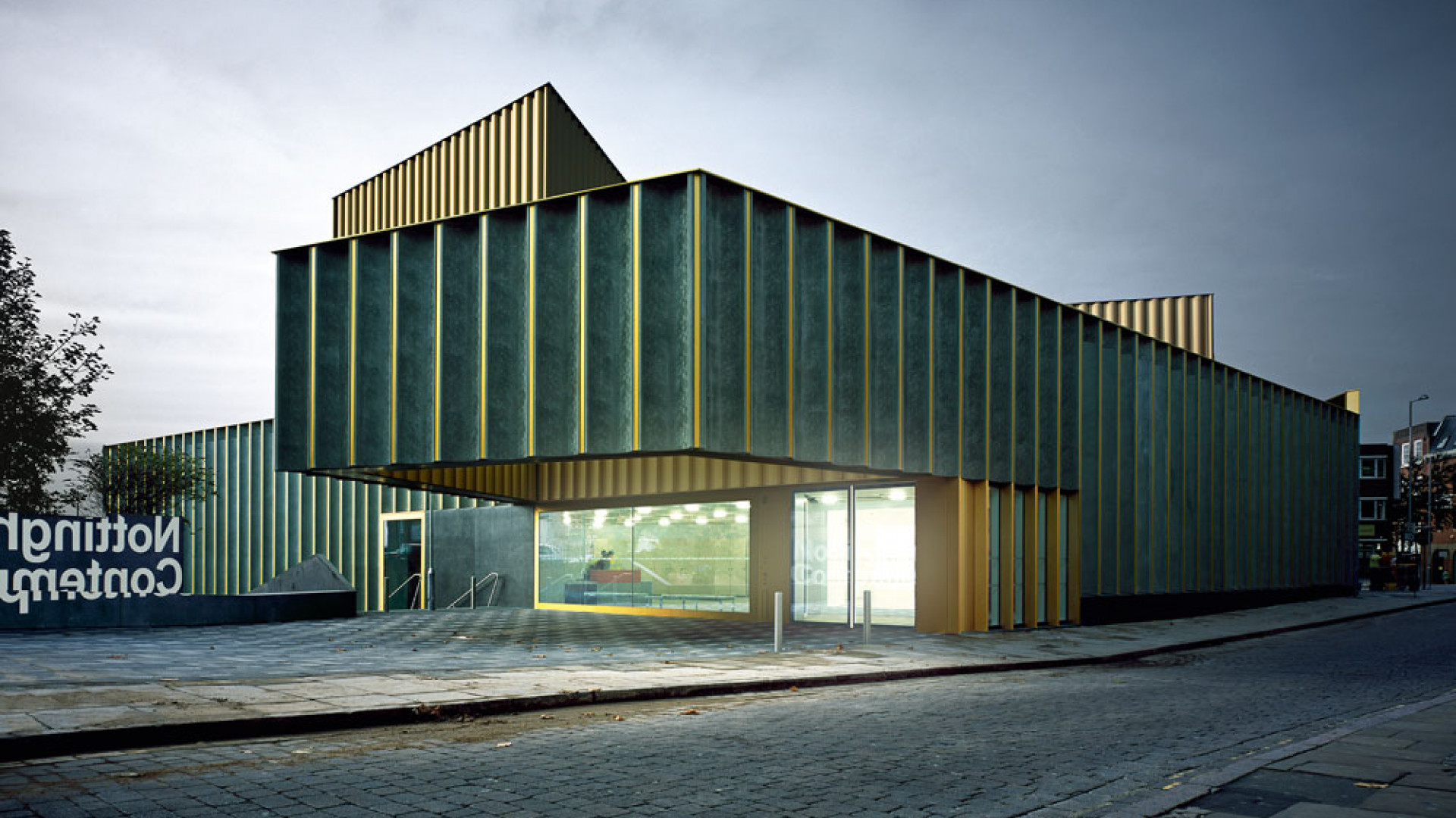 Exterior view of Nottingham Contemporary