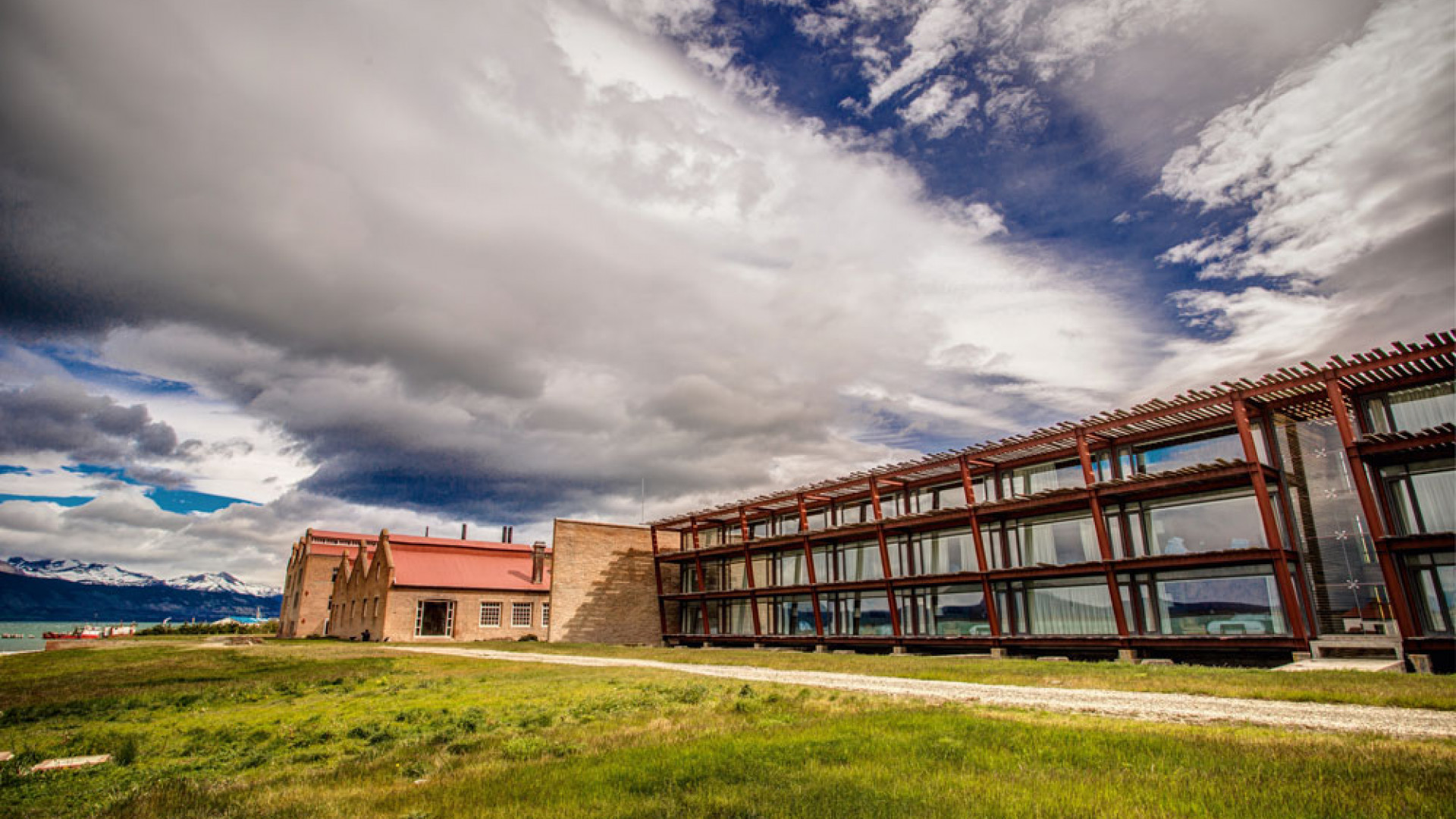 The Singular Hotel, near Puerto Natales airport, Patagonia