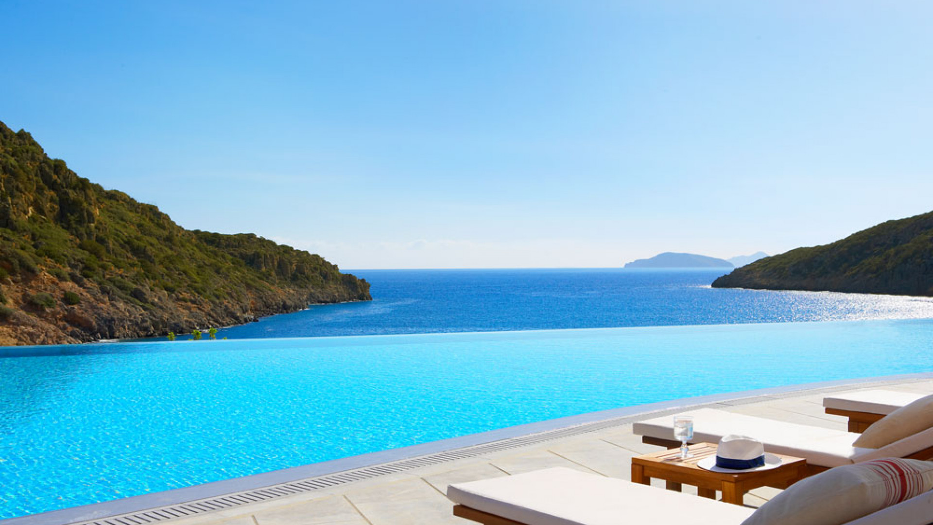 Infinity Edge Pool at Daios Cove