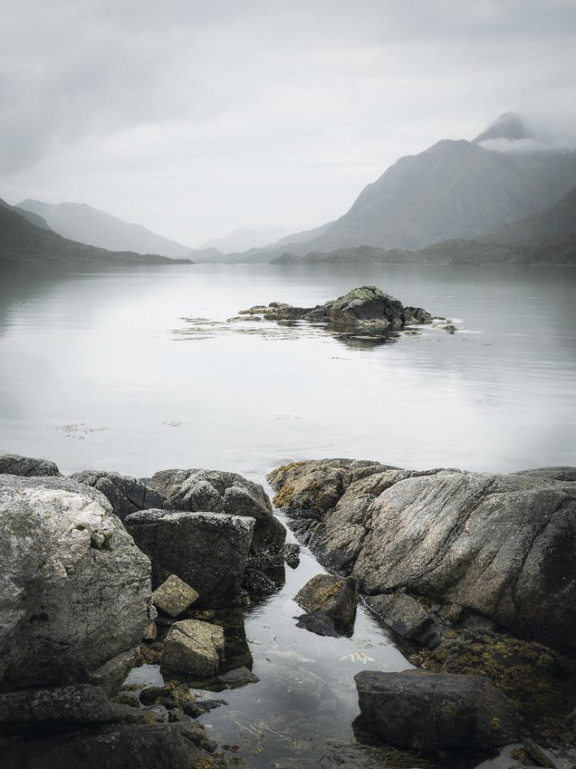 View across Gavlfjorden, Norway