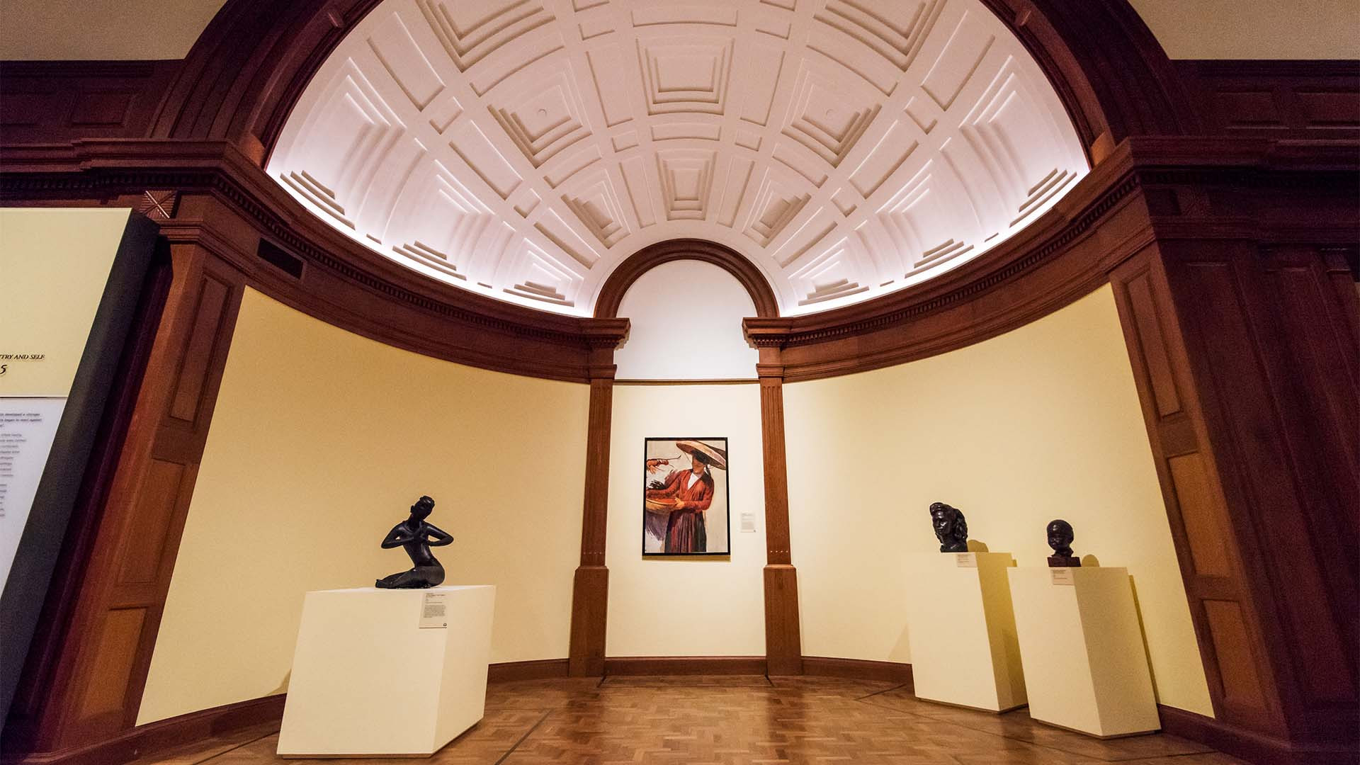 Interior of Singapore National Gallery