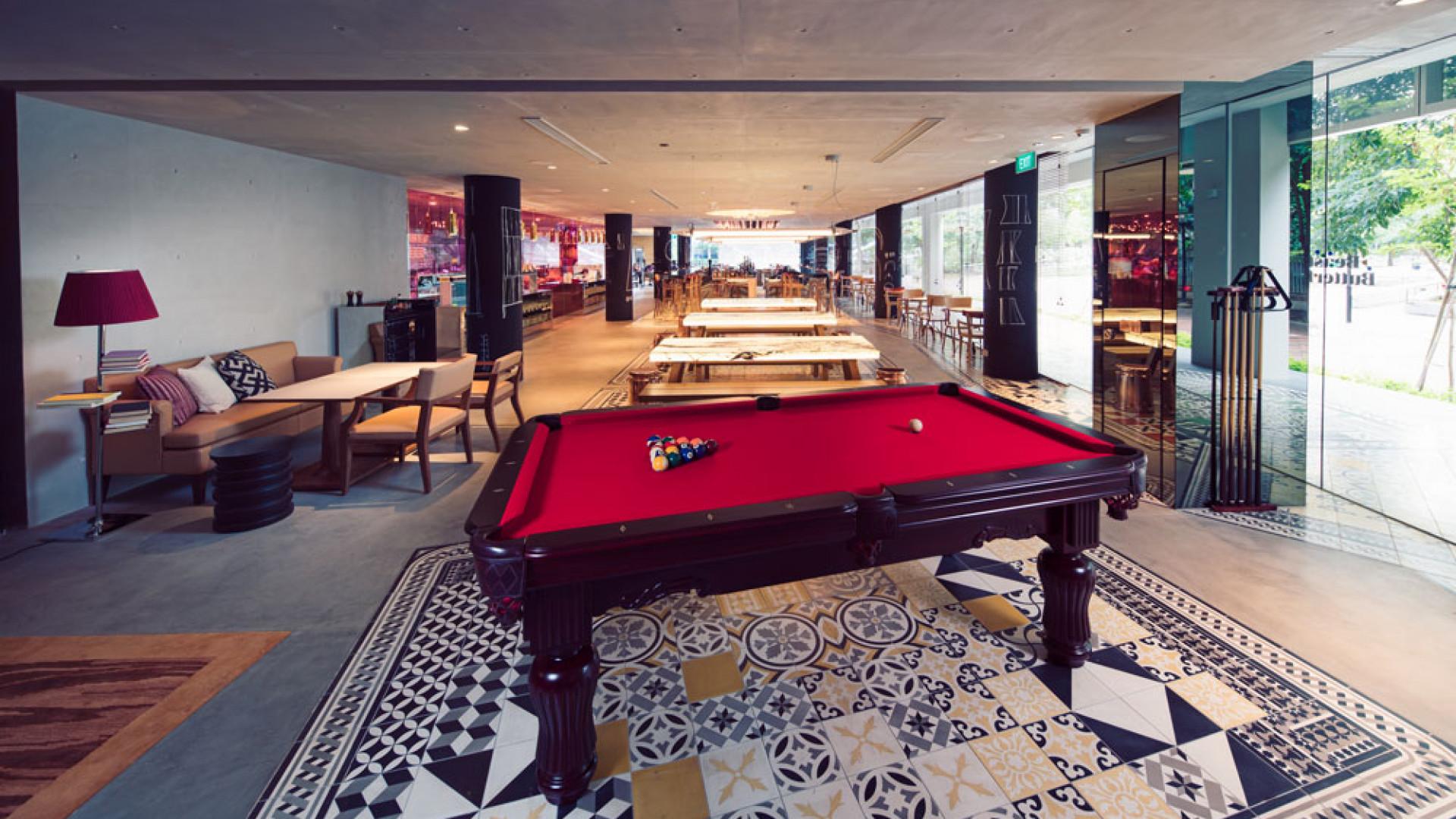Lounge at M Social, Singapore