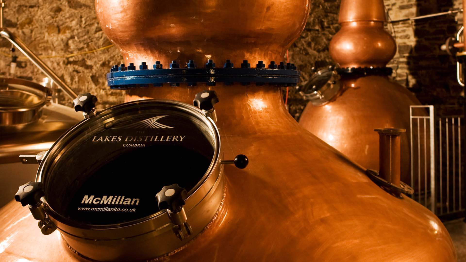 The still at Lakes Distillery, Cumbria