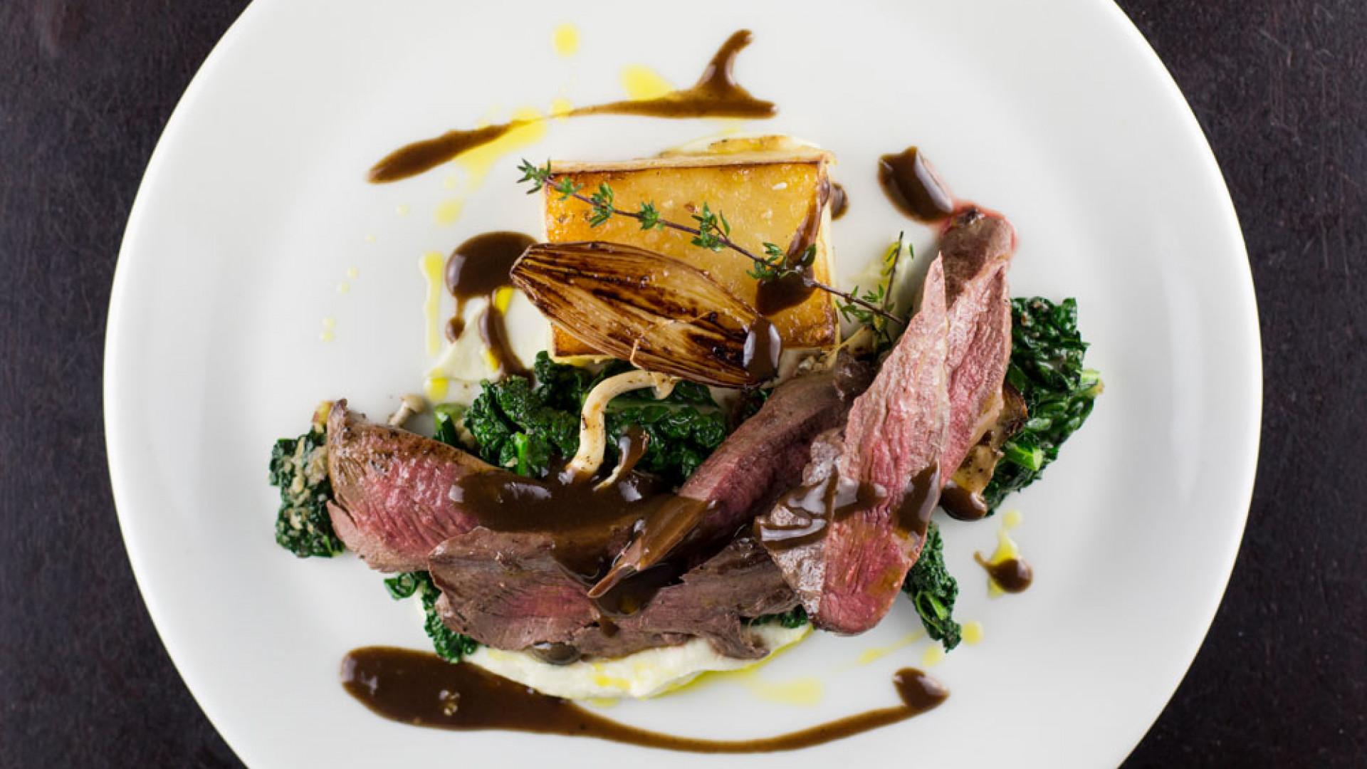 Wagyu beef roast at Shoot The Bull, Hull