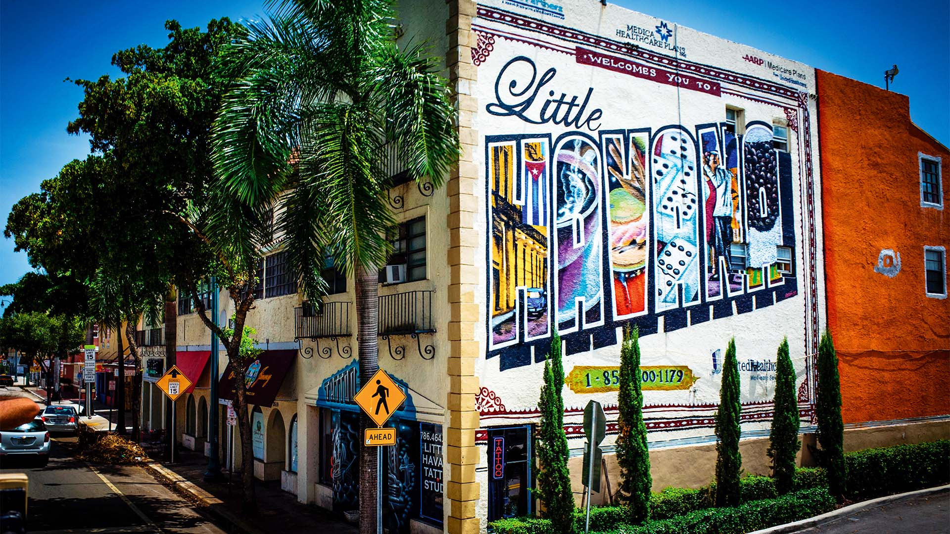 Mural in Little Havana, Miami, Florida