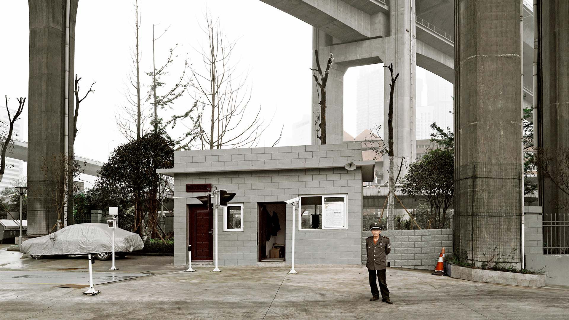 Yuzhong flyover, from Gisela Erlacher's Skies of Concrete