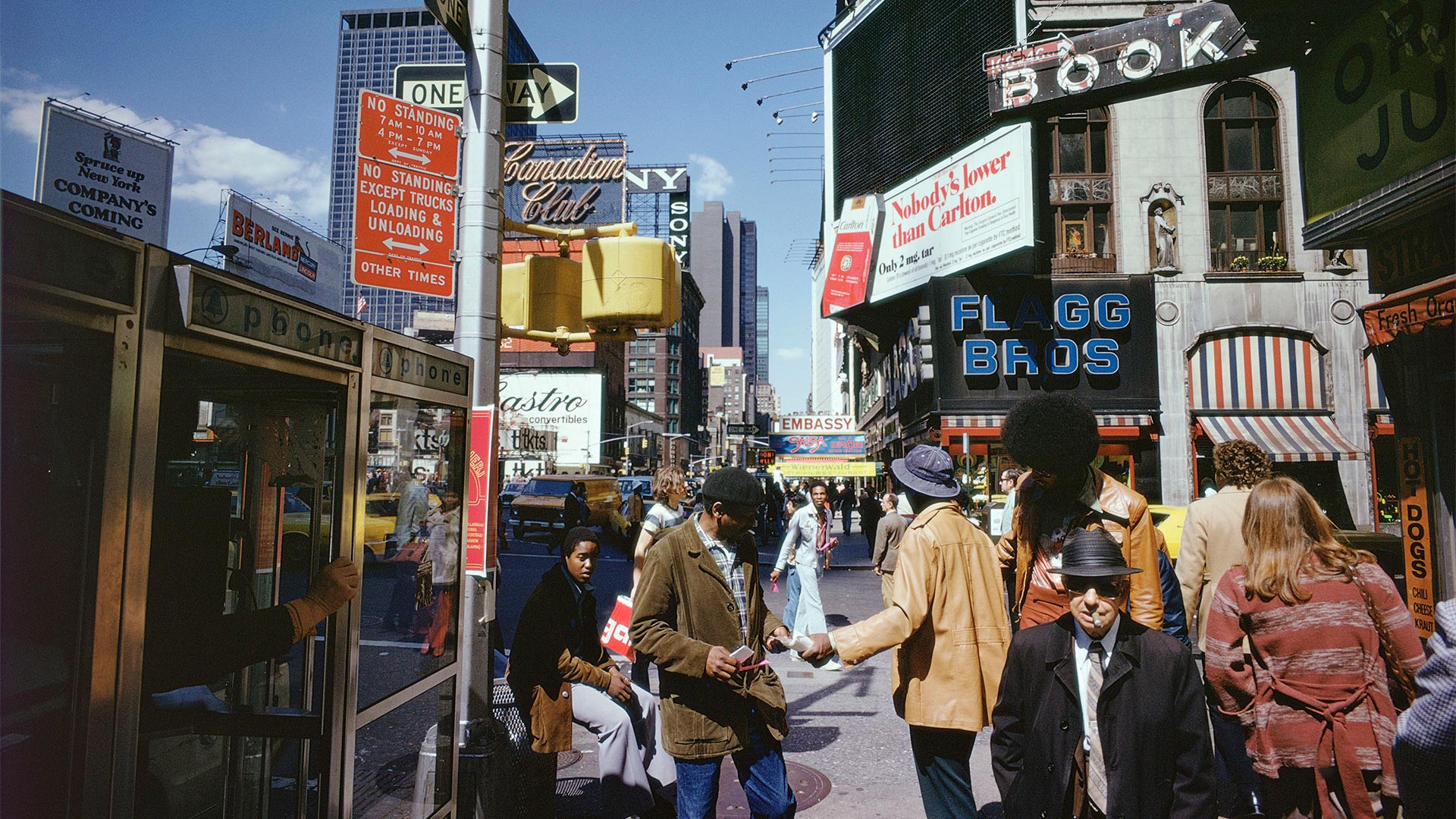 New York City street photography by Joel Meyerowitz