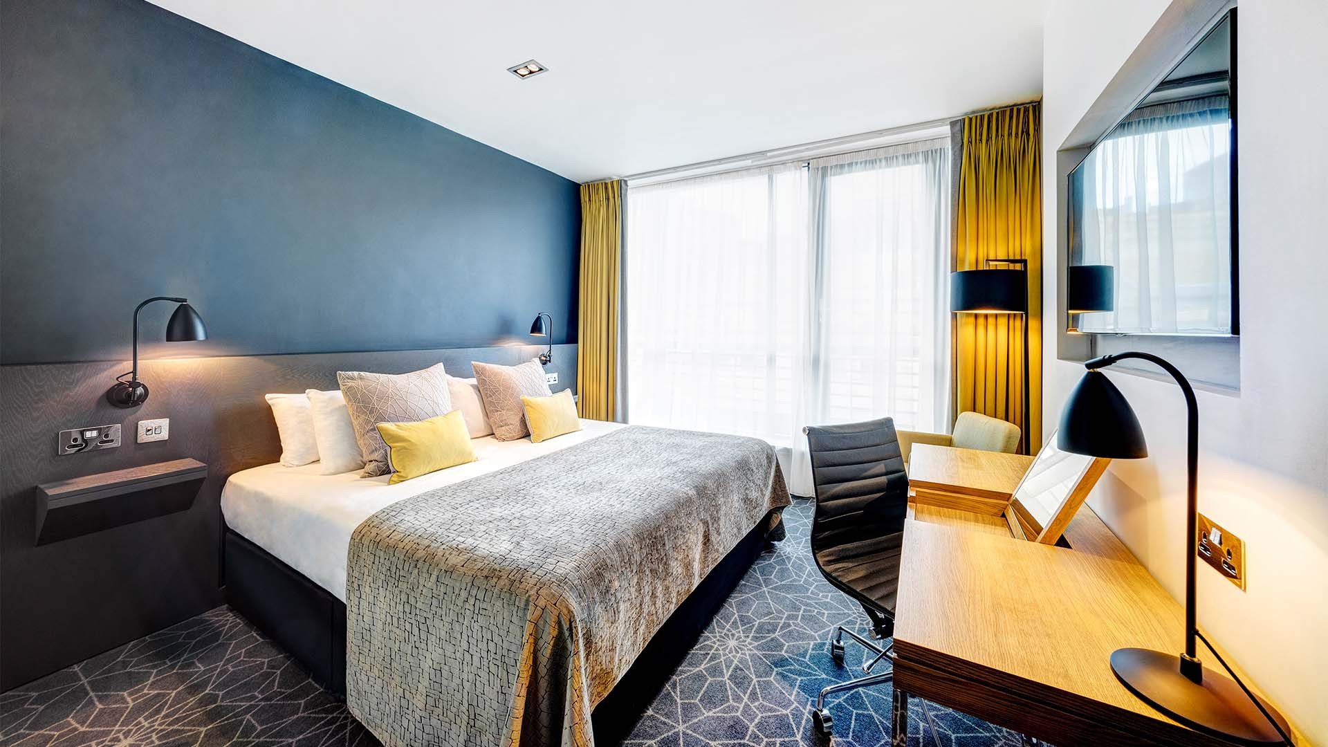 Room at Apex City of Bath Hotel, Bath, UK