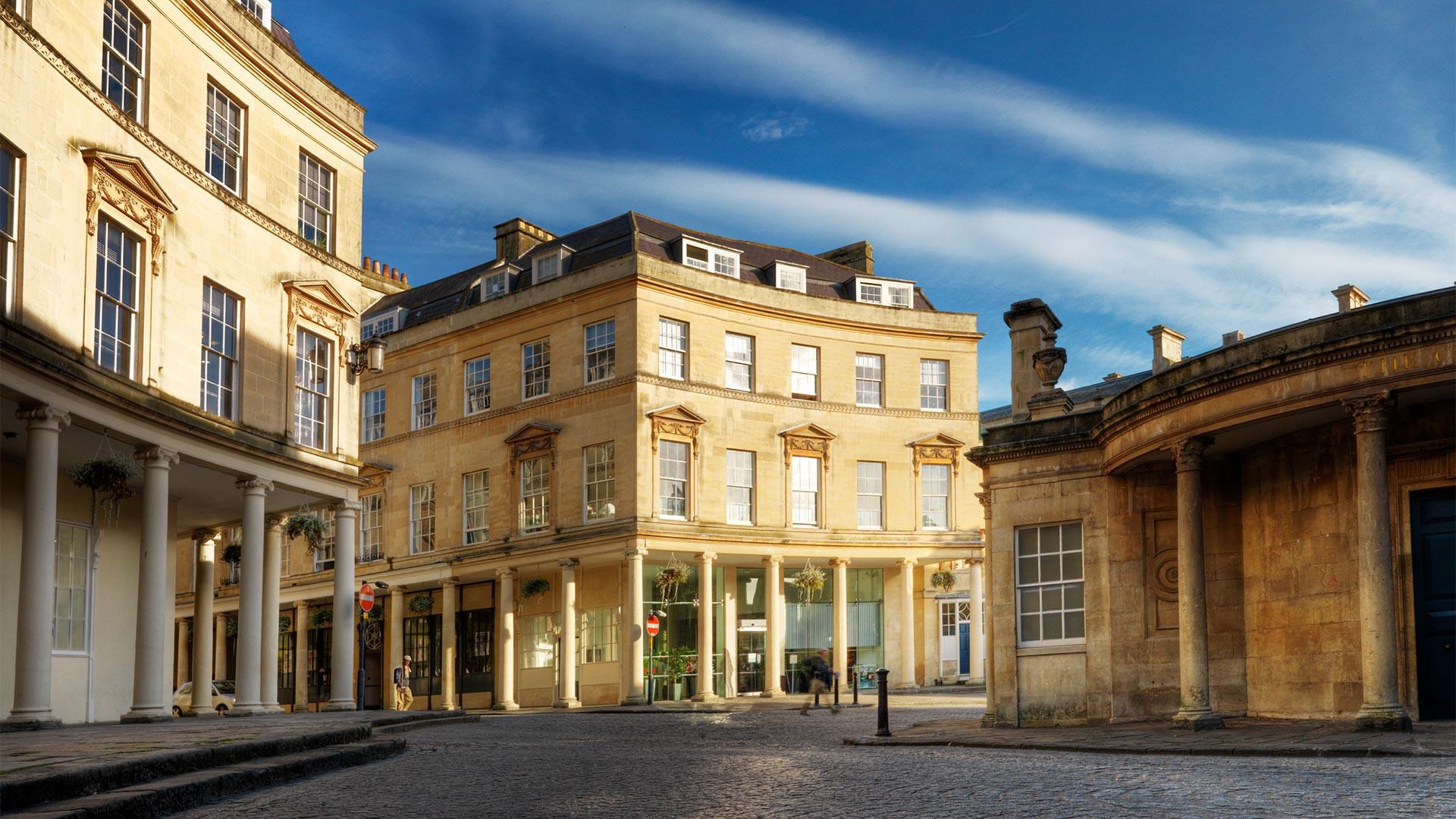 Shopping in Bath Spa, UK