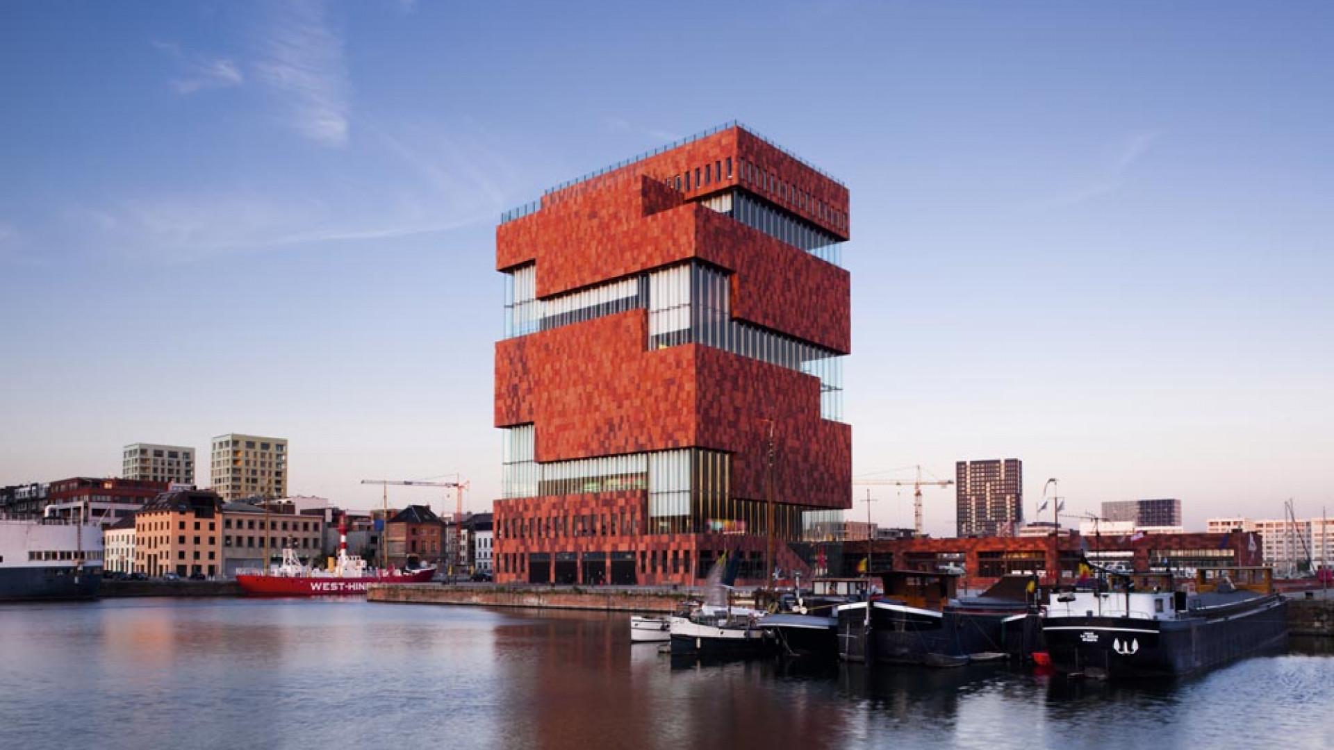 Museum Aan de Stroom Antwerp Belgium