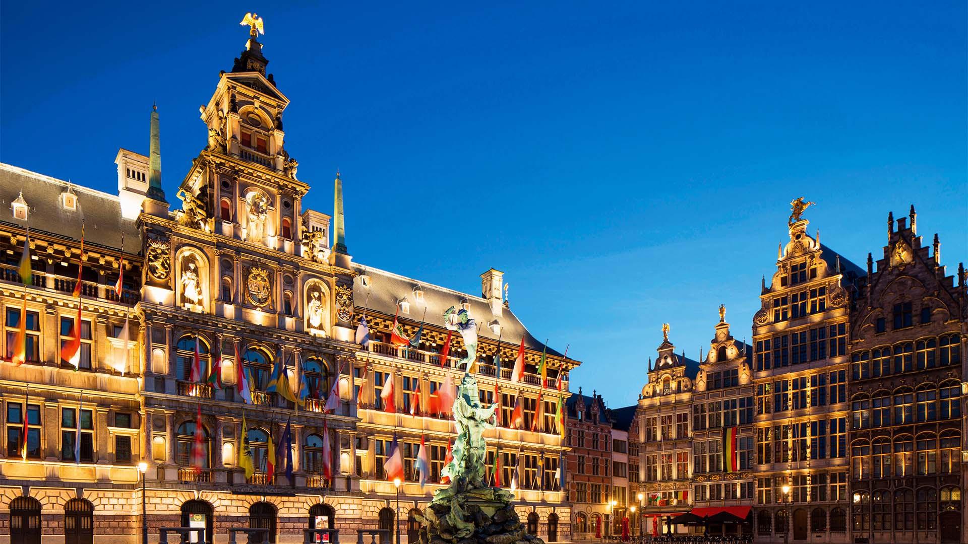 Town Hall, Antwerp Belgium