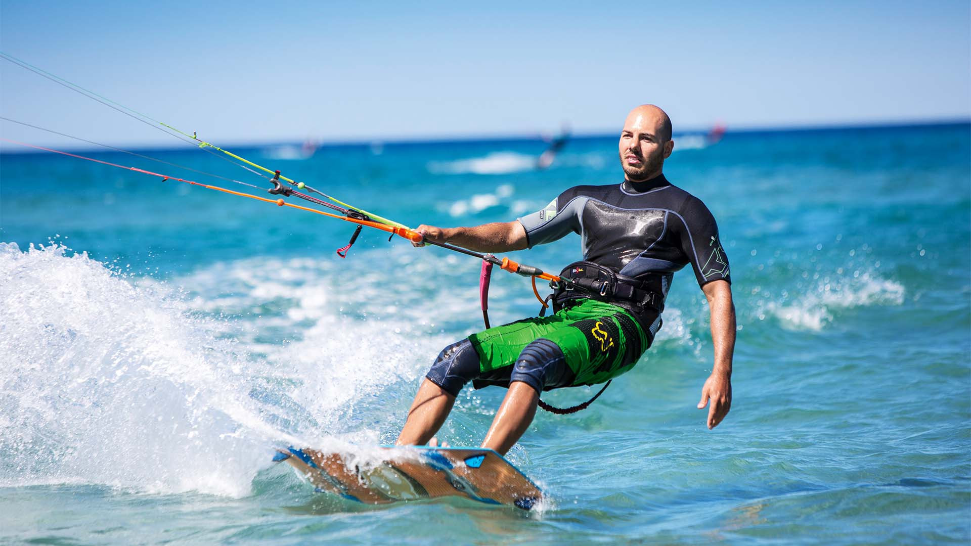 Windsurfing at Chia Laguna Resort Sardinia