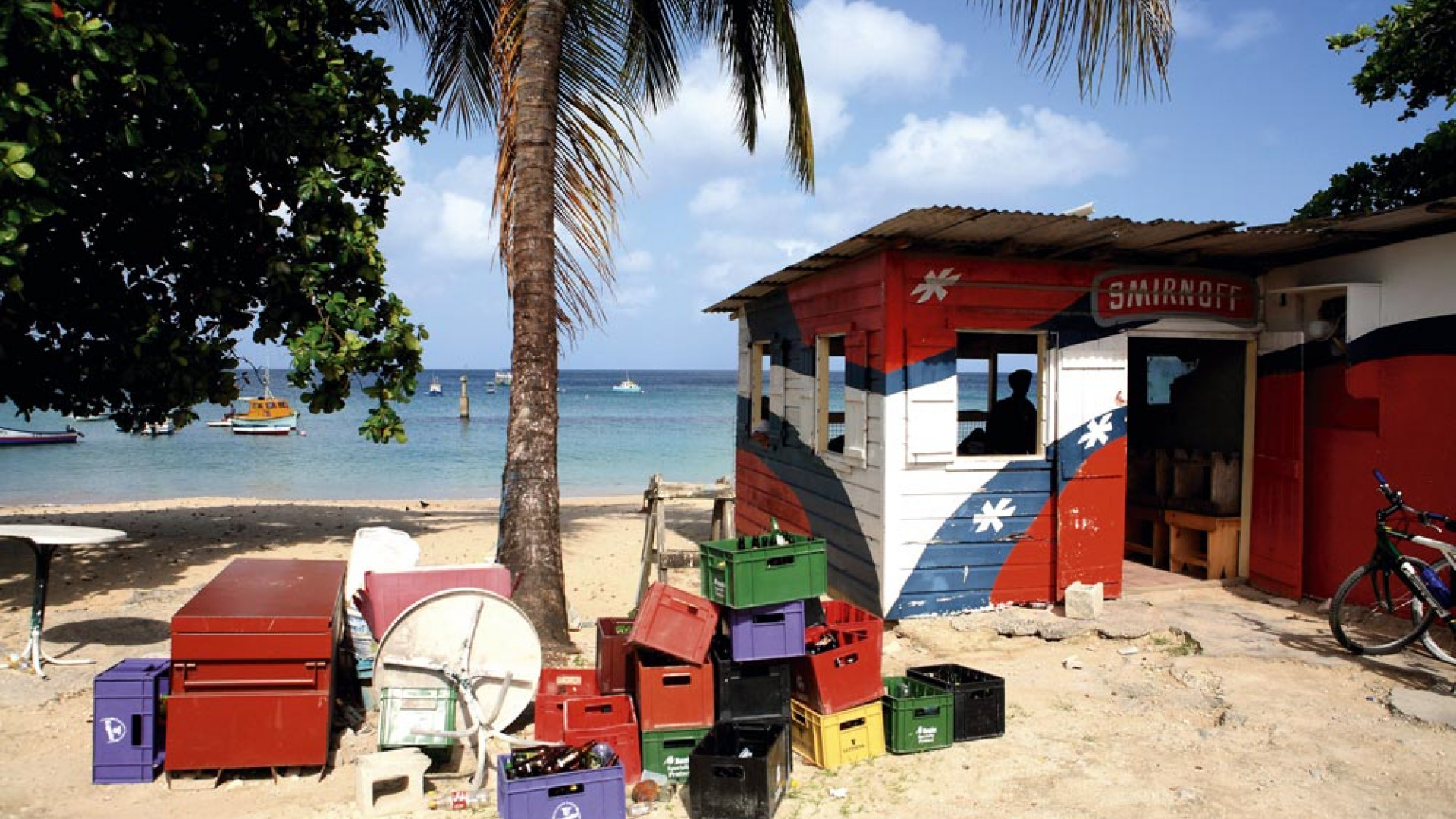 Rum shack in Barbados