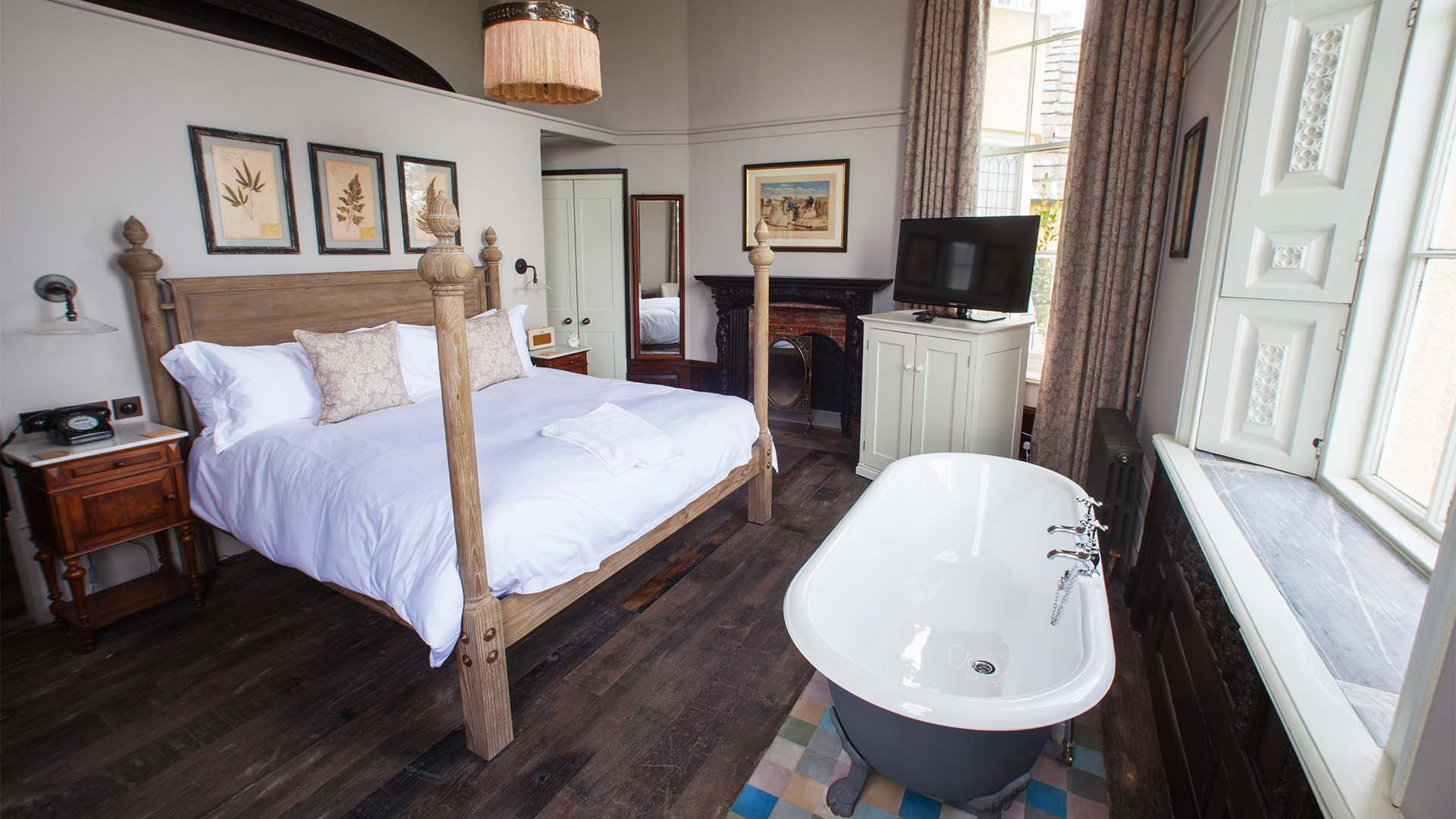 Room at The Pig on the Beach, Dorset