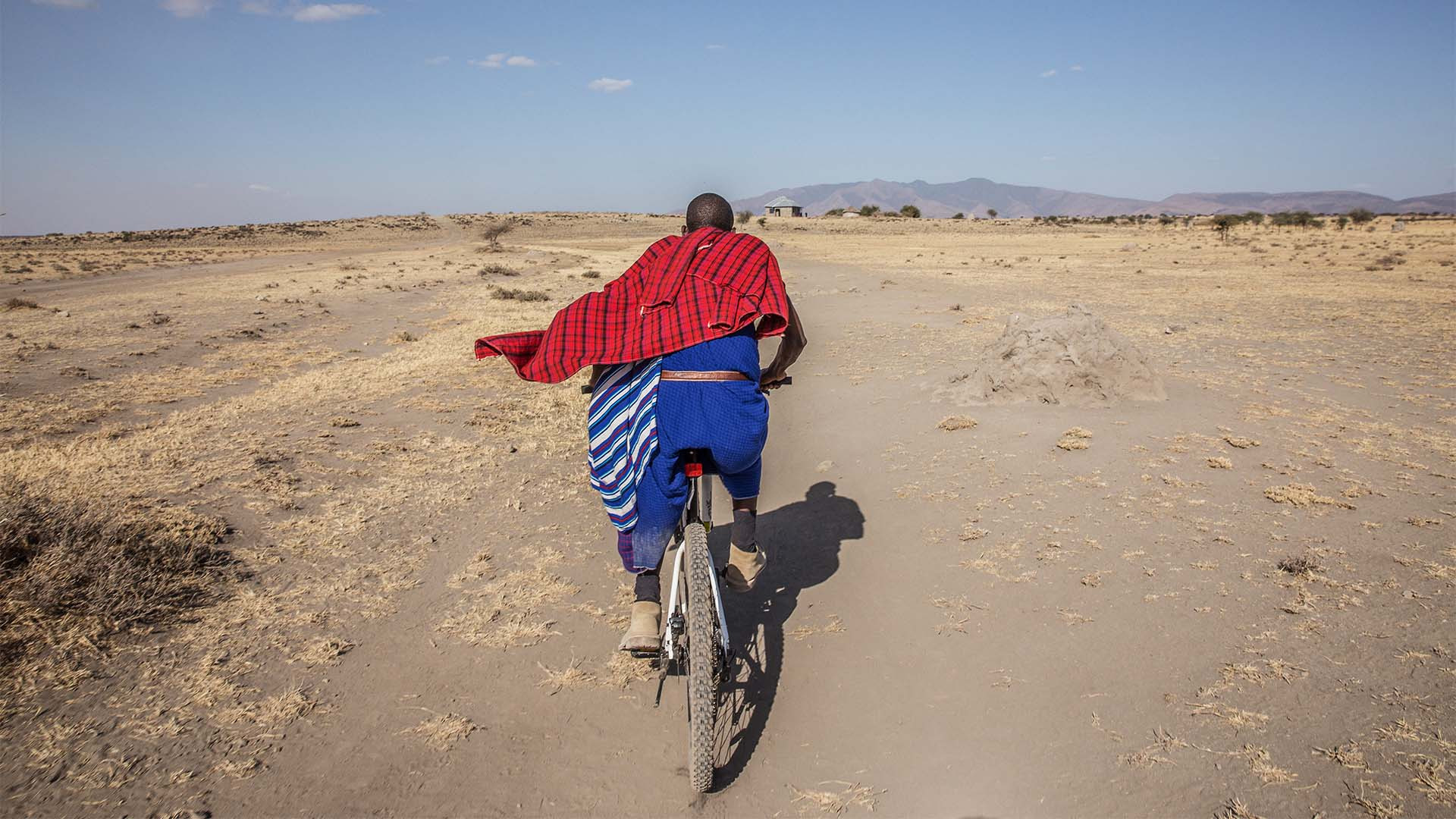 Cycling in Tanzania, Africa