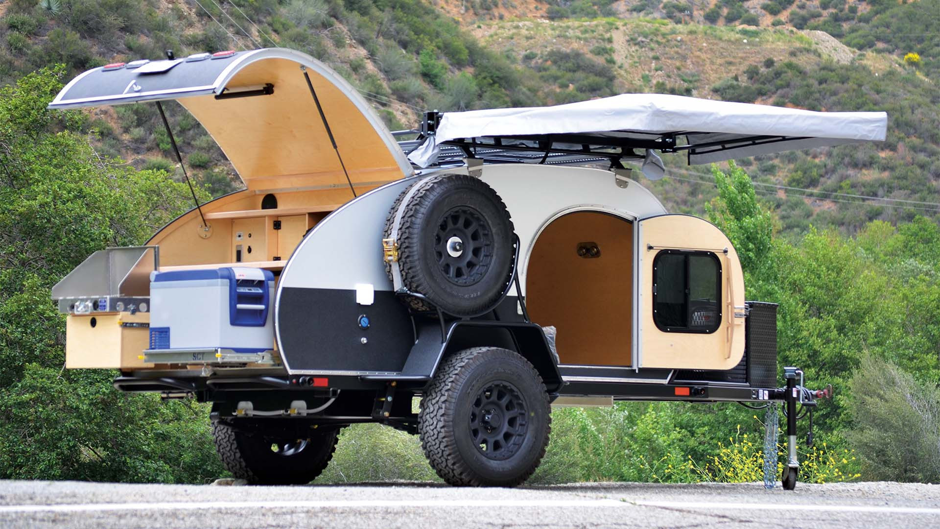 The XS two-wheeled trailer – Mobitecture