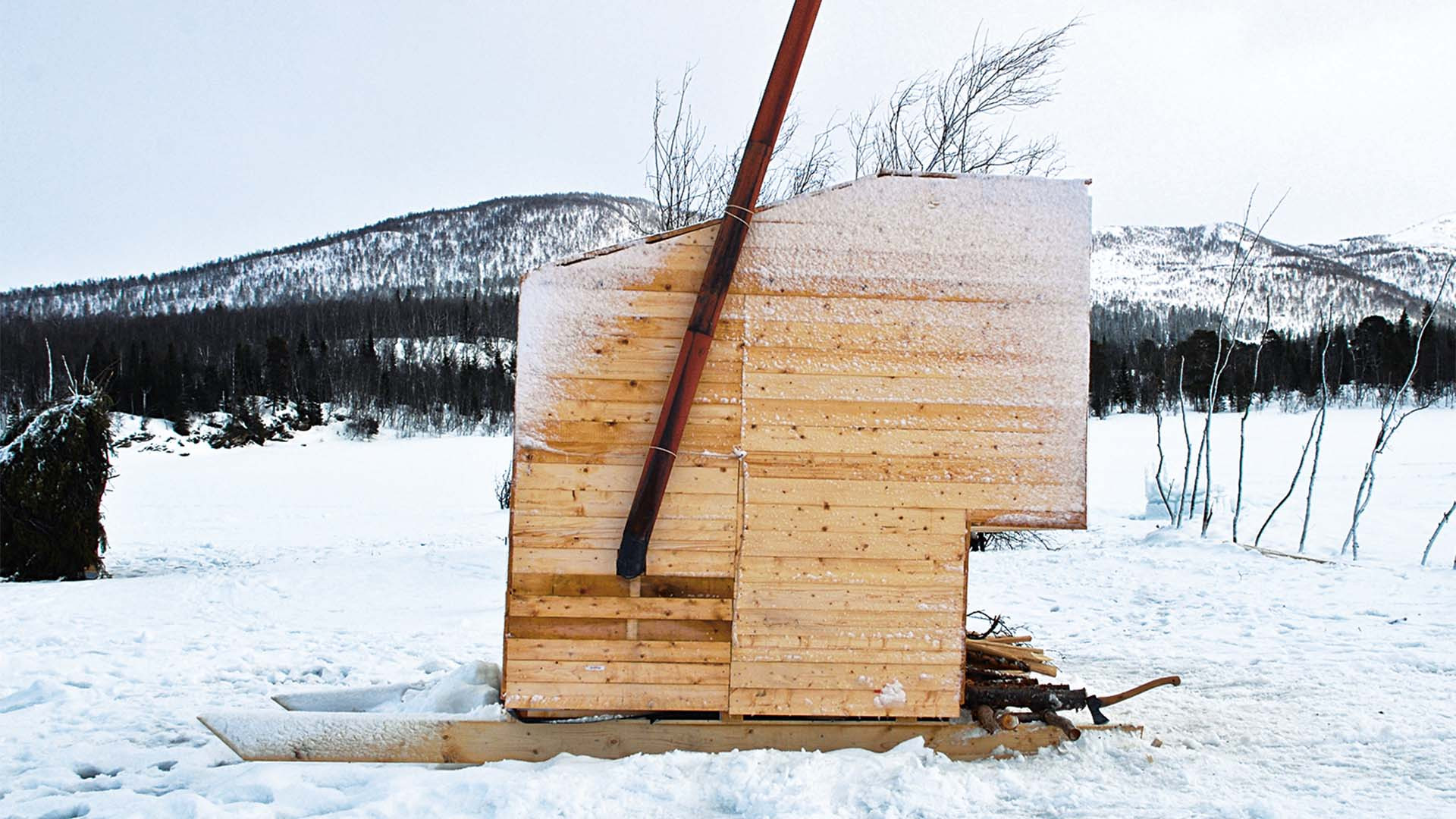 Noma Sauna on skis, Norway – Mobitecture
