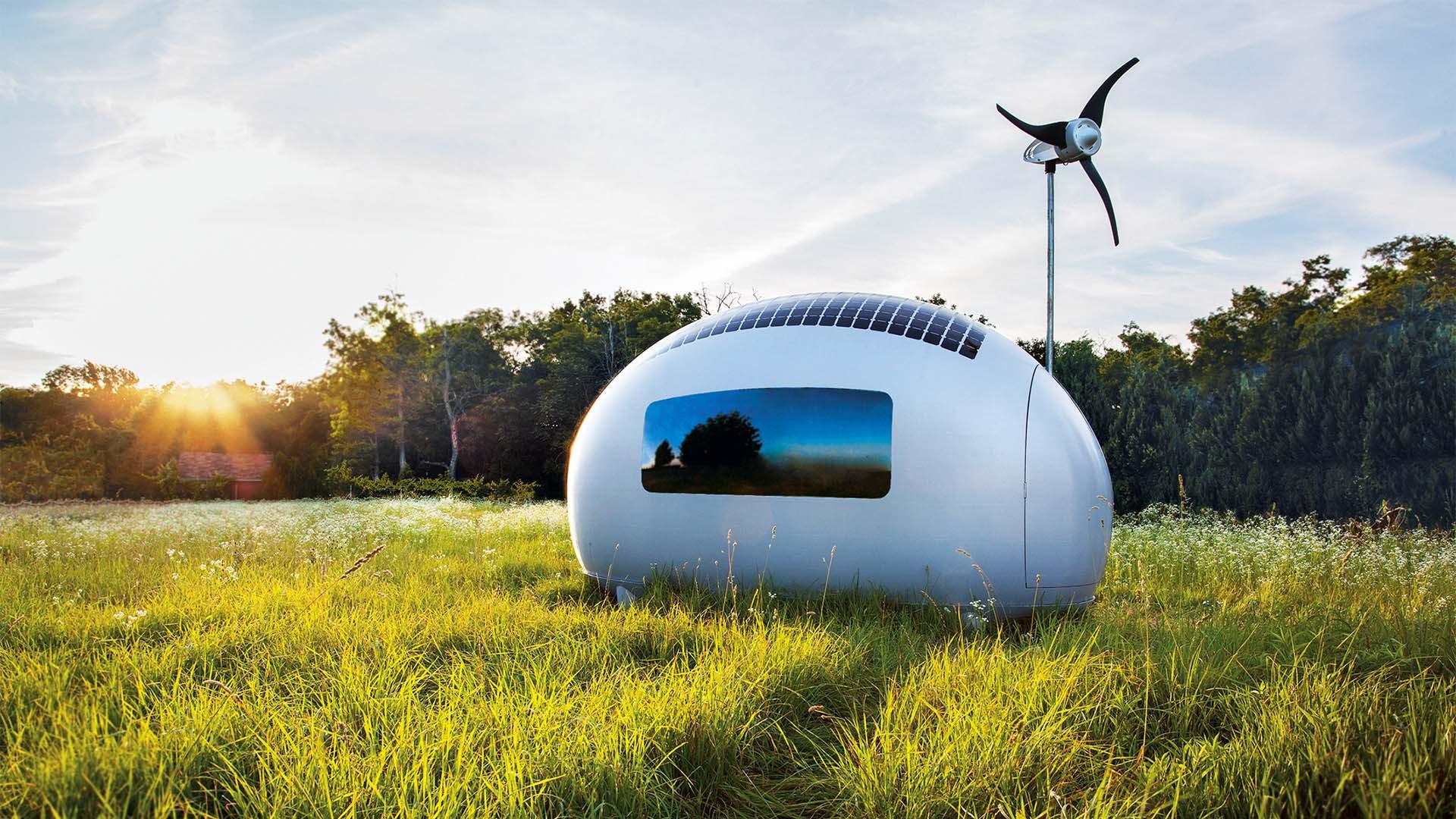 Ecocapsule living pod, Slovakia