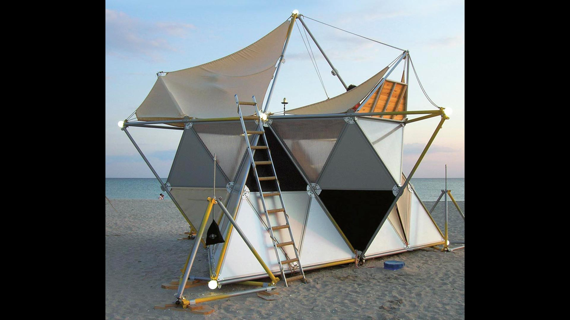 Y-BIO camping system by Archinoma – Mobitecture