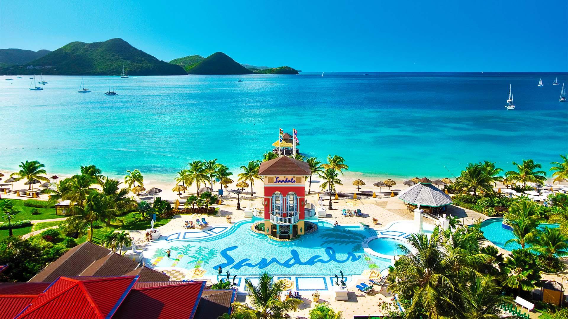 Sandals Grande Saint Lucian
