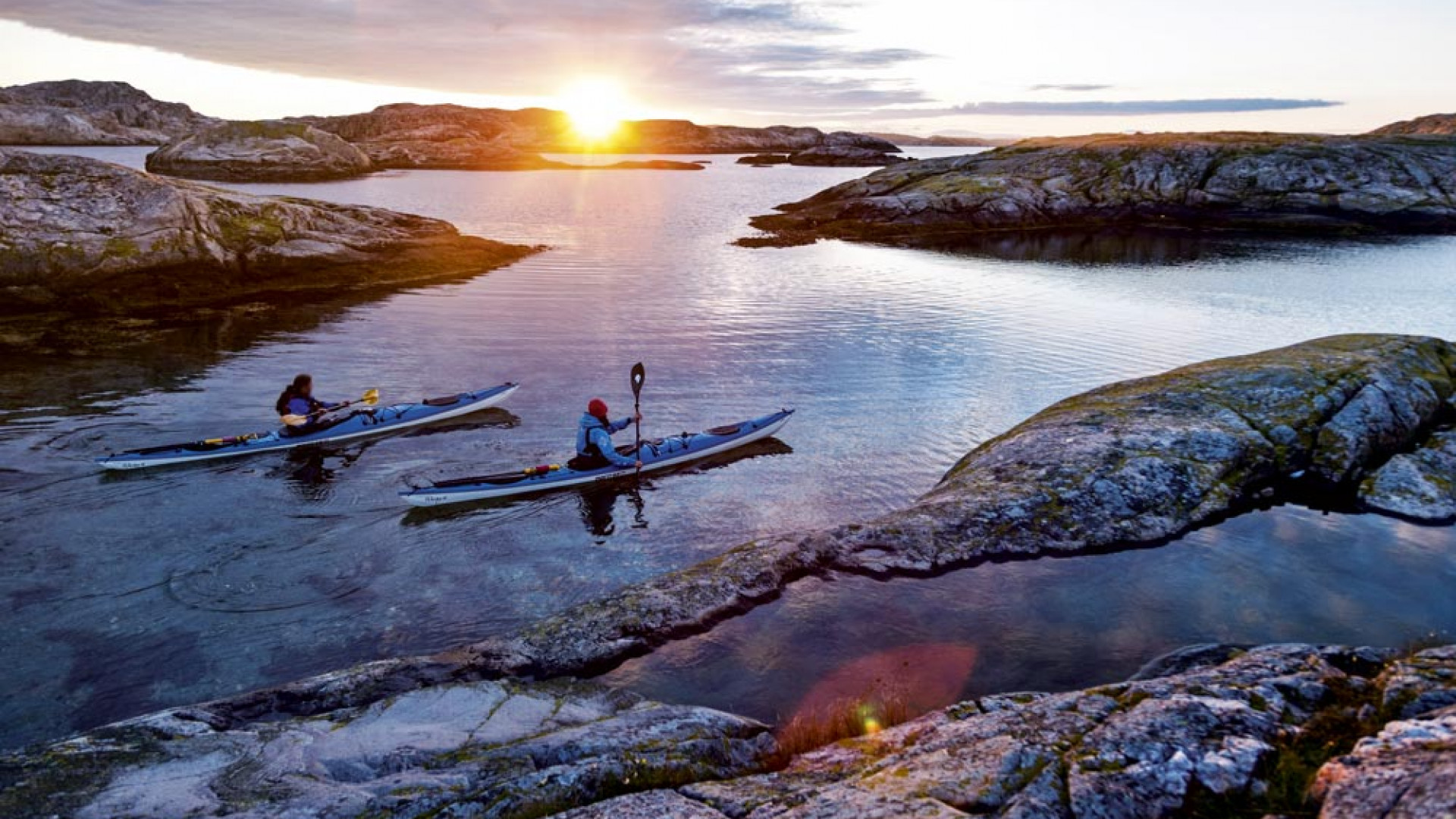 Kayaking West Sweden