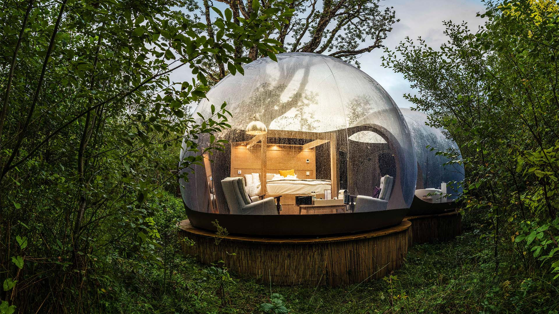 Finn Lough Bubble Domes, Northern Ireland