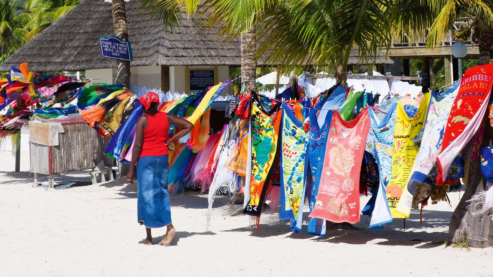 Antigua beach, Caribbean