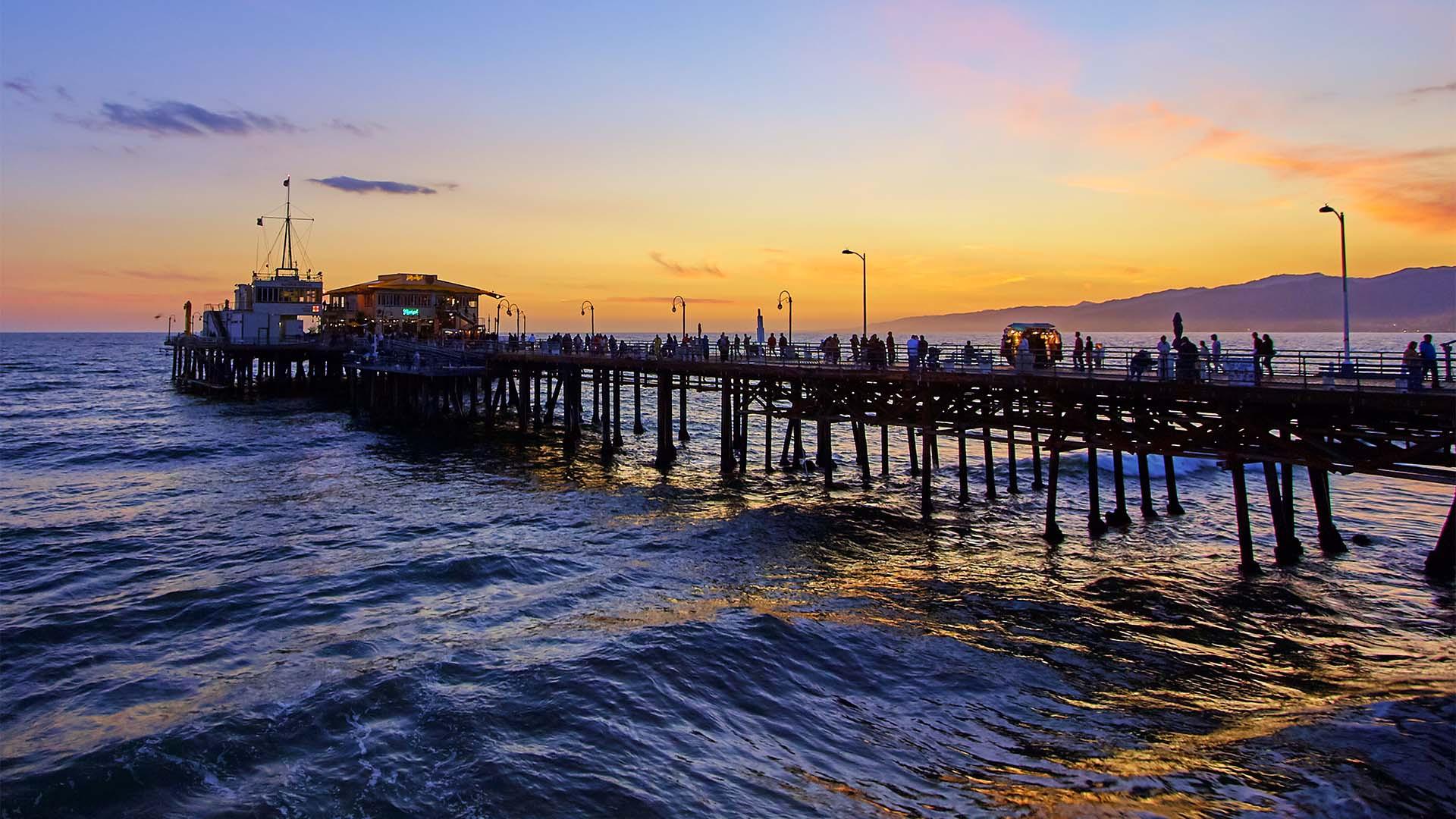 Pier at Venice Beach, LA
