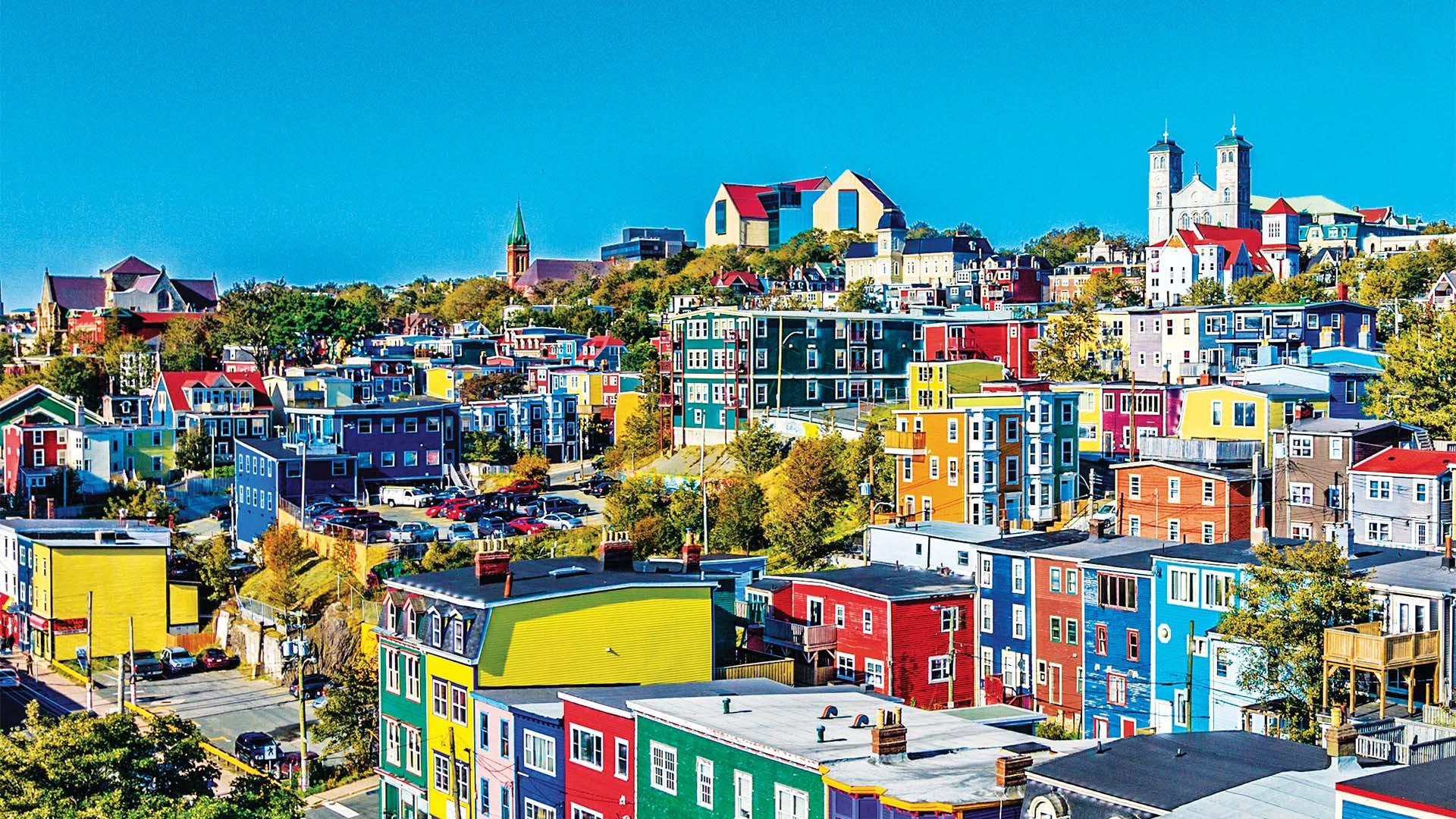 St John's skyline, Newfoundland & Labrador