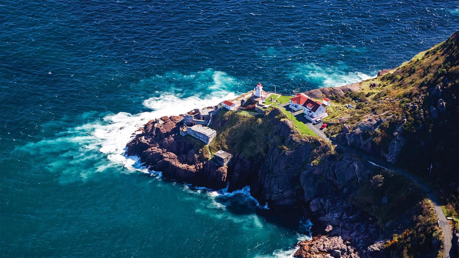 Lighthouse near St John's Newfoundland & Labrador