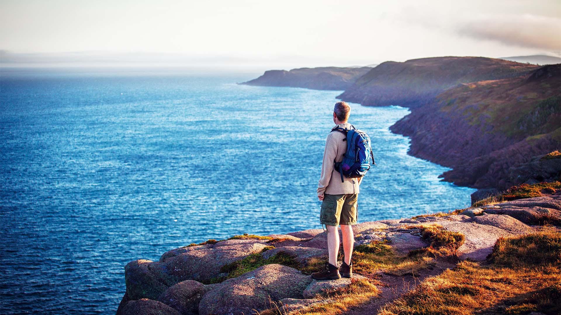 Hiking East Coast Trail, Newfoundland & Labrador, Canada