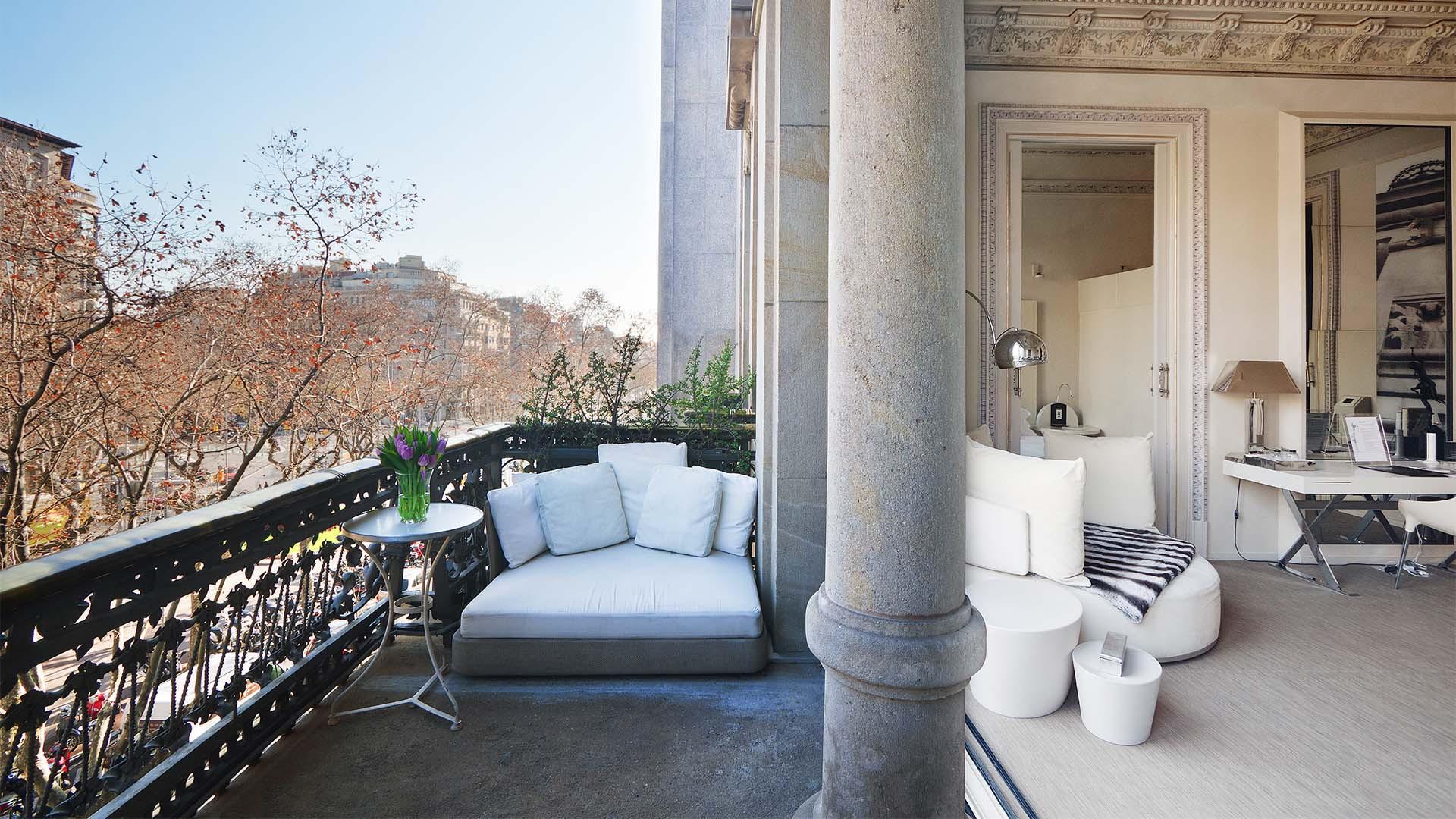 Balcony at El Palauet Living, Barcelona