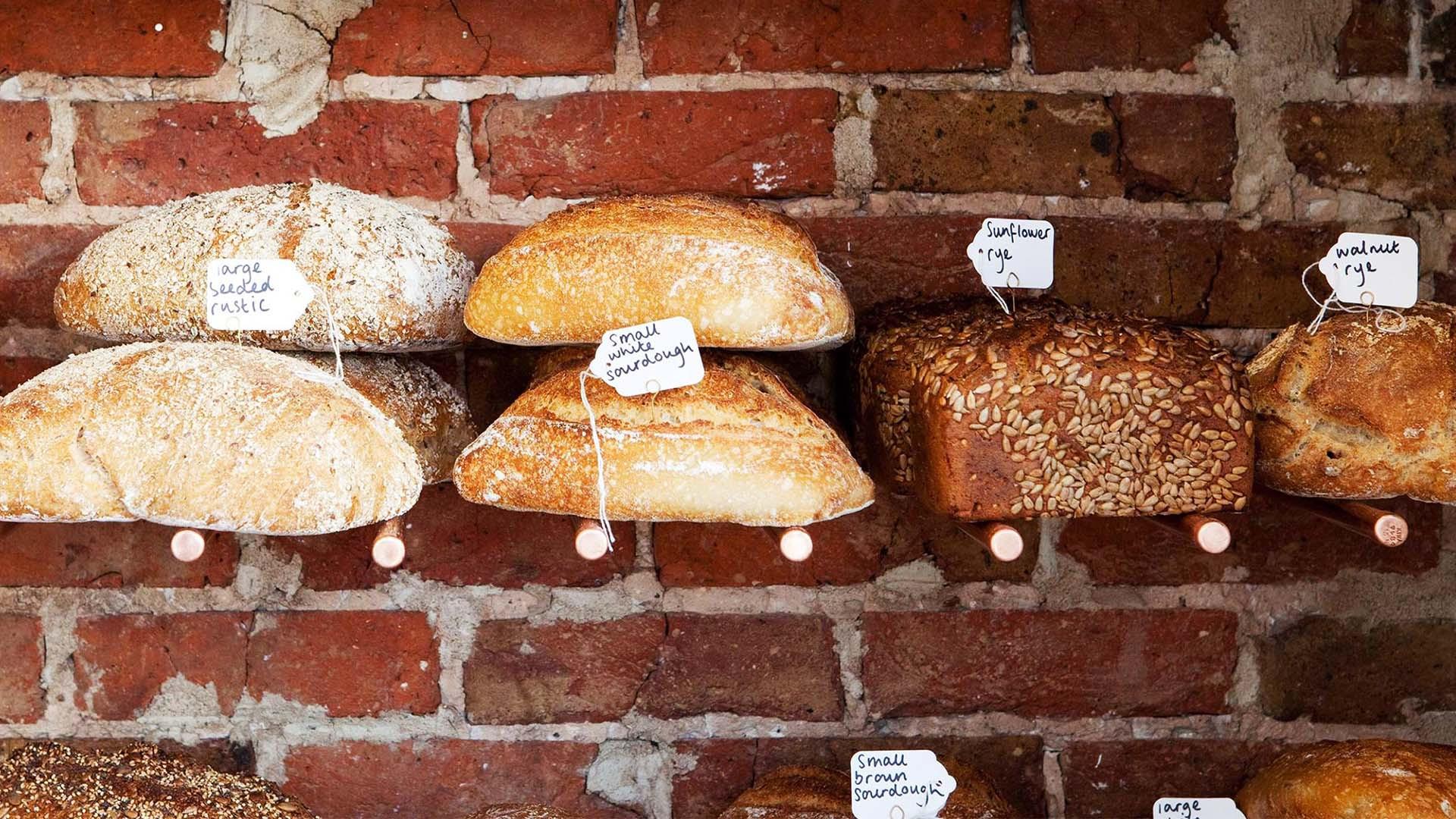 Bread at The Flour Pot Bakery