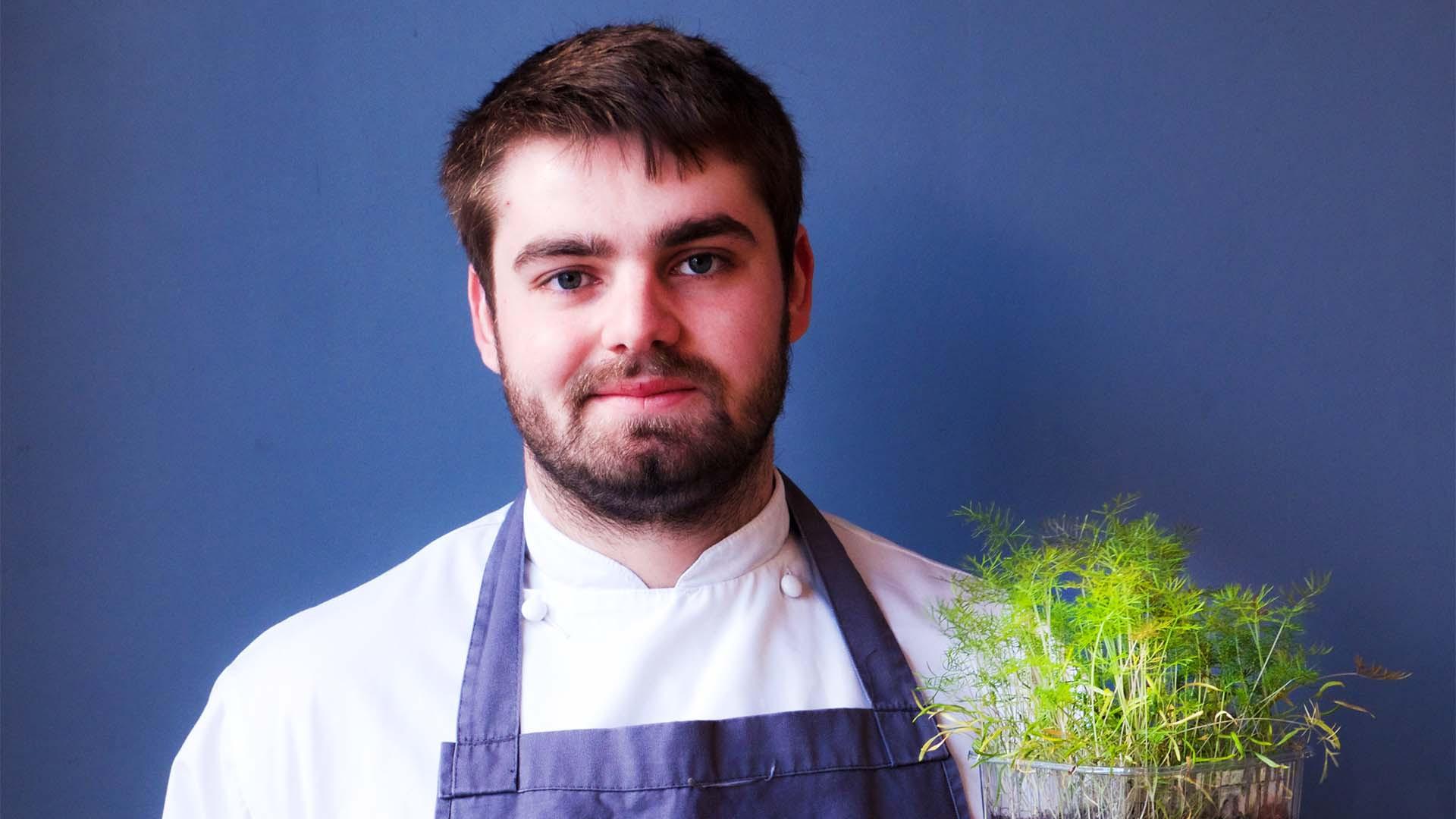 Isaac Bartlett-Copeland, head chef at Brighton's Isaac At