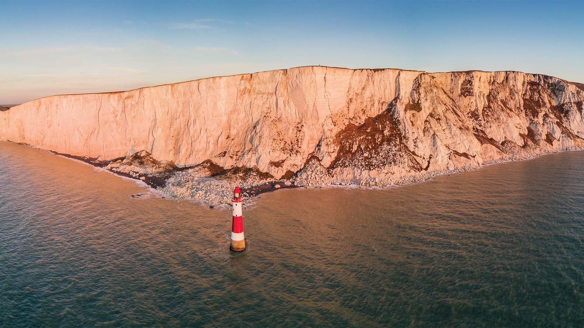 Beachy head drone photo from Drone Photography Masterclass