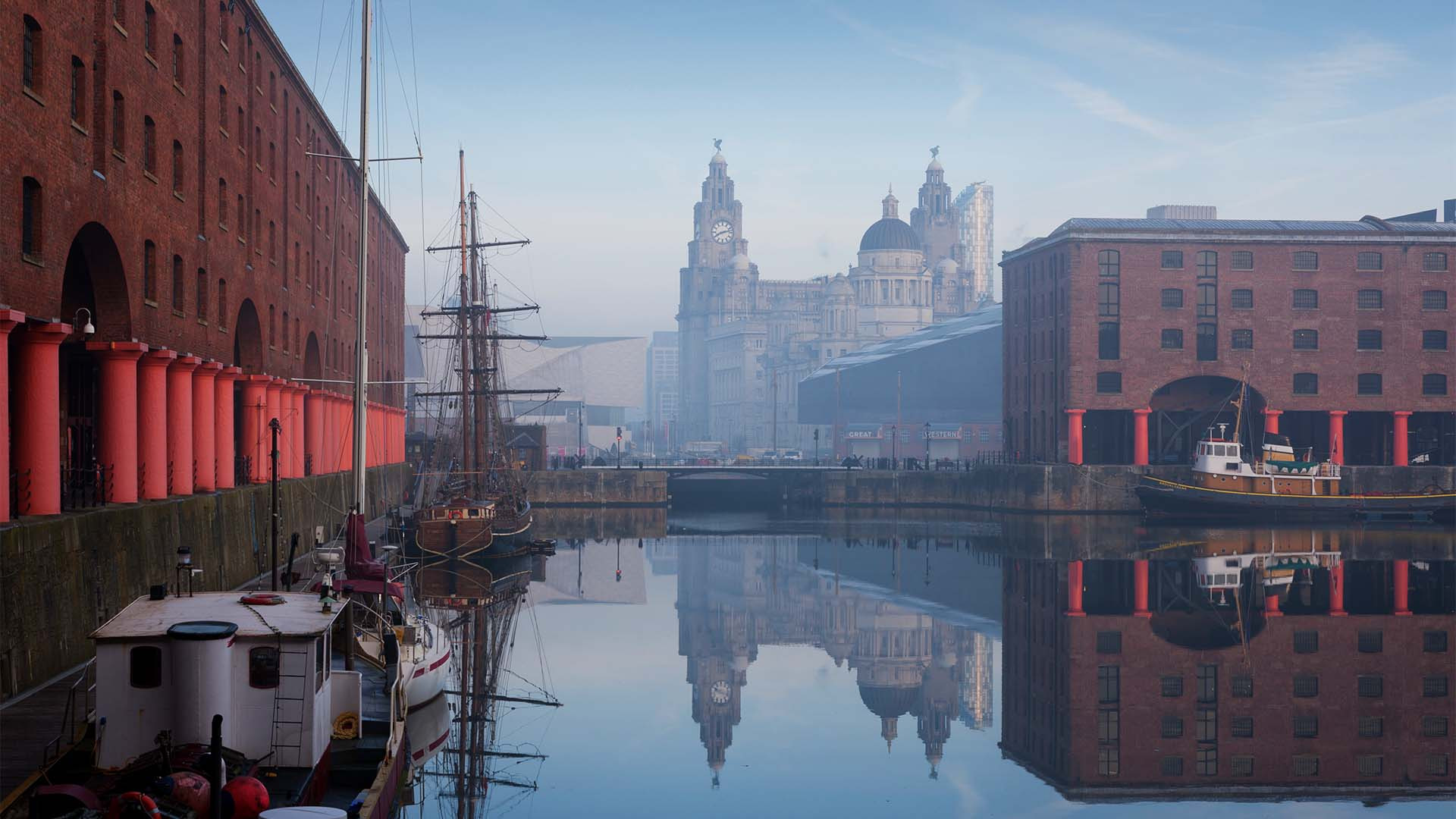 Maritime Albert Dock, Liverpool