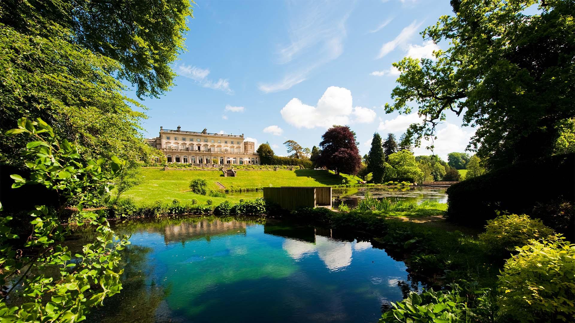 Cowley Manor, near Cheltenham, Gloucestershire