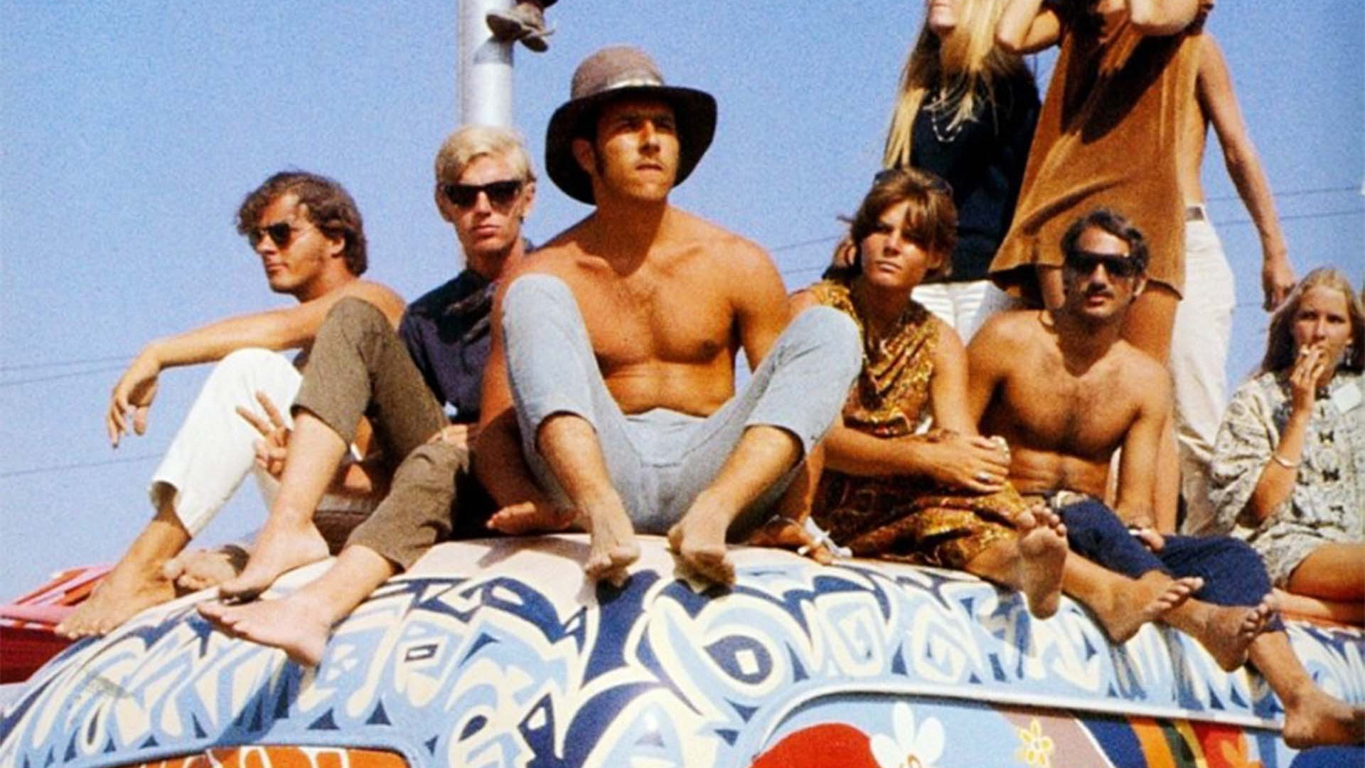 Festivalgoers at Woodstock